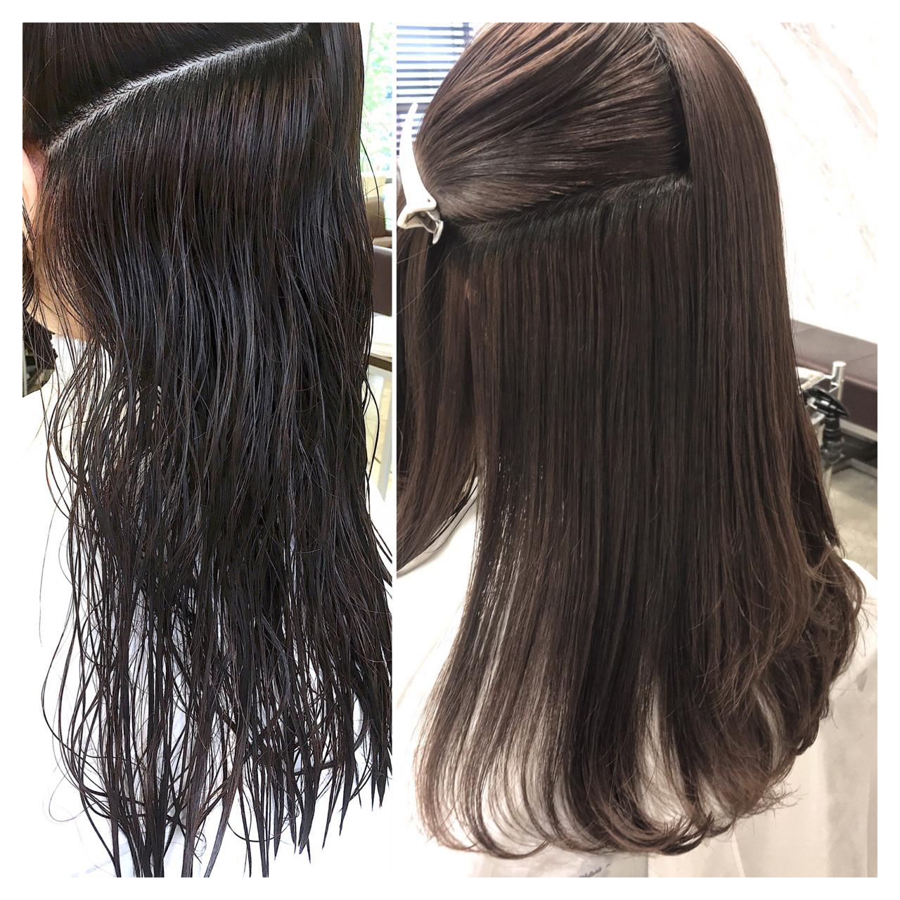 縮毛矯正 オフィス パーマ リラックス ヘアスタイルや髪型の写真・画像 | ABBEY2 横田 雄哉 / ABBEY2