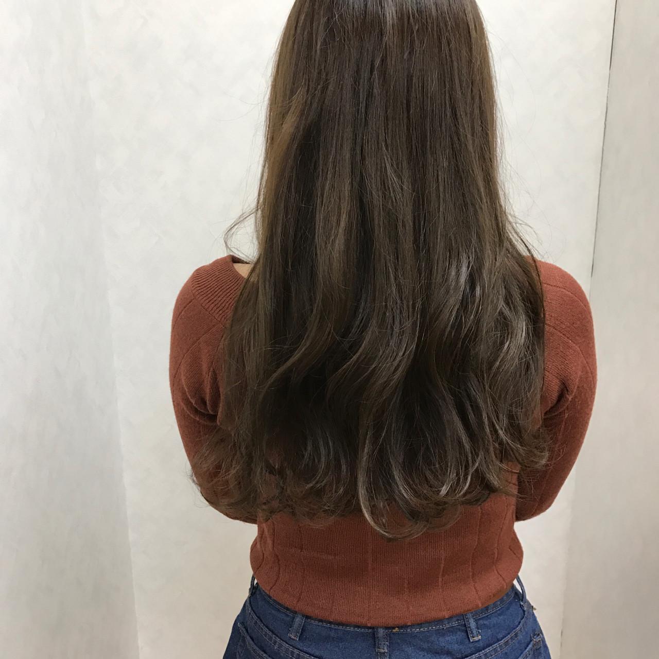 エレガント 上品 ハイライト ロング ヘアスタイルや髪型の写真・画像 | タカギツカサ / BECCO
