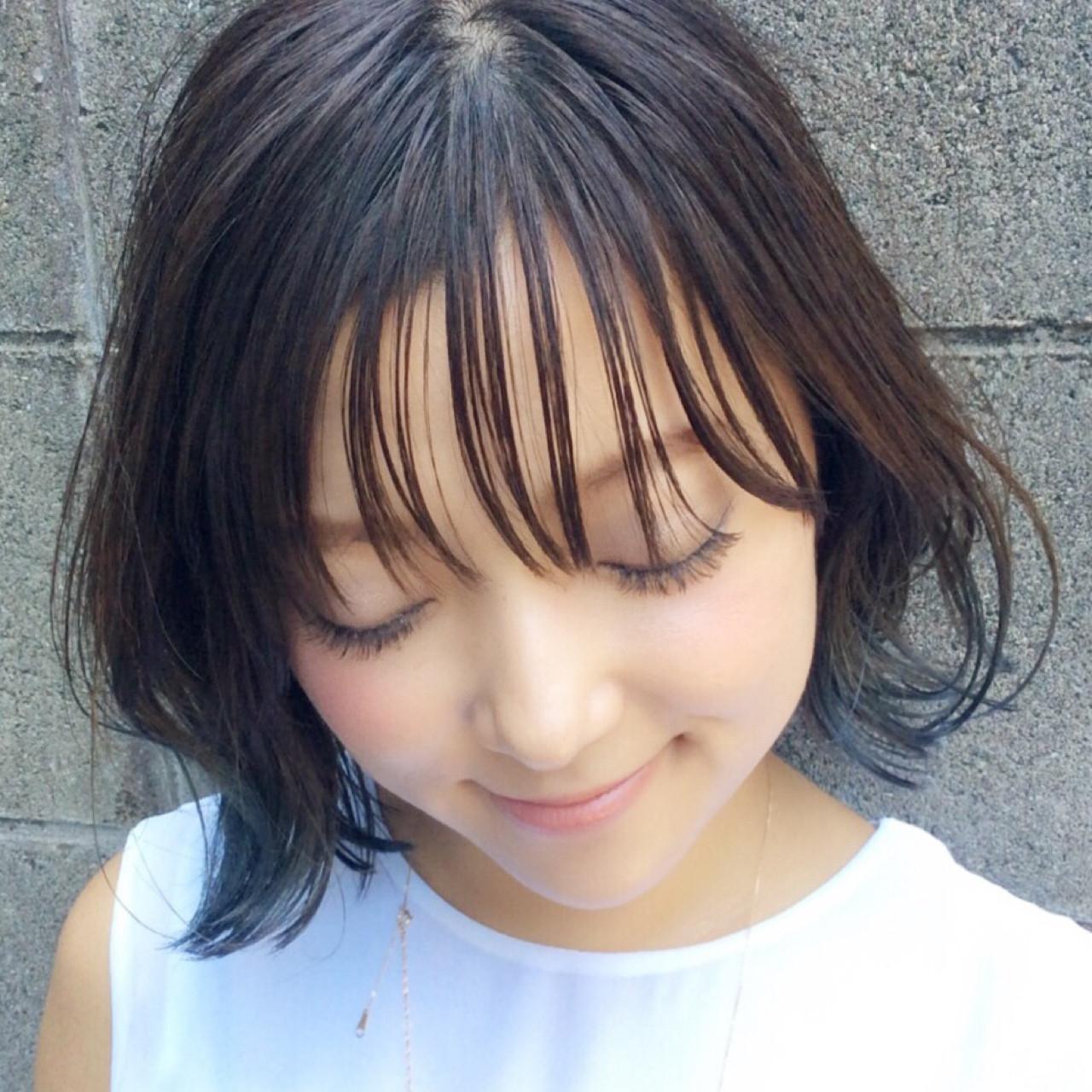グラデーションカラー 外国人風 イルミナカラー 暗髪 ヘアスタイルや髪型の写真・画像 | アビル 裕貴 / ノーネームヘアー