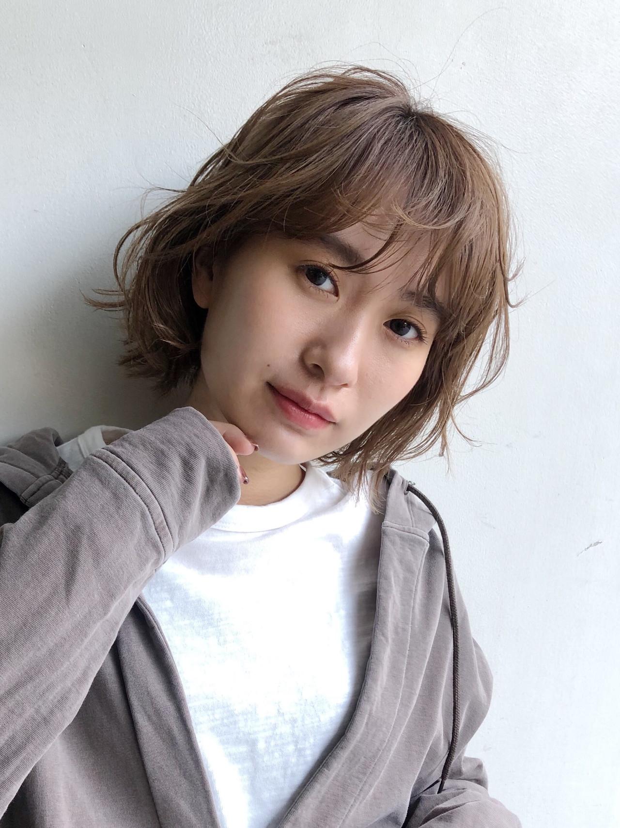インナーカラー ショートボブ ミニボブ ショートヘア ヘアスタイルや髪型の写真・画像 | 小林 優介 / ASSORT TOKYO