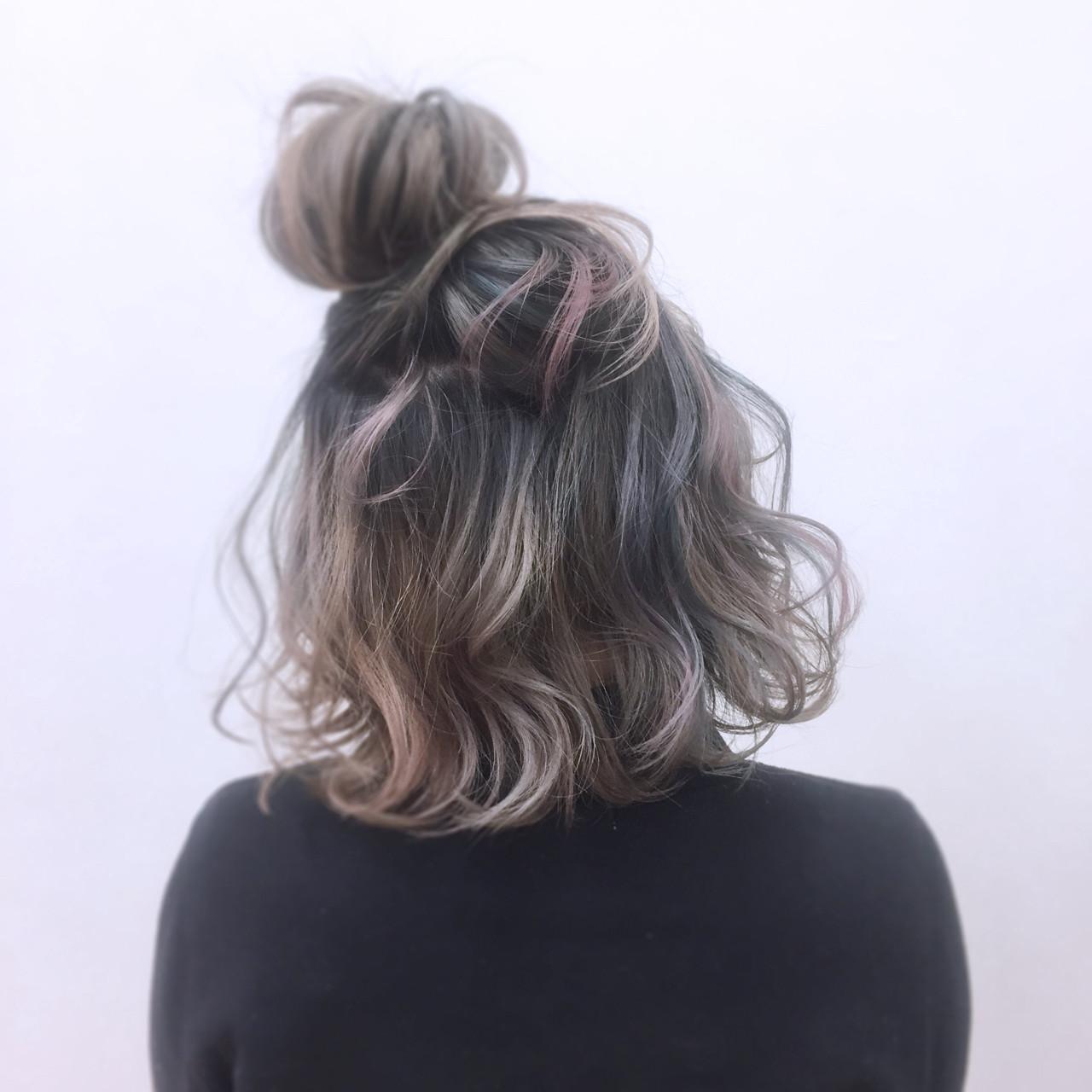 ガーリー ニュアンス 簡単ヘアアレンジ 外国人風 ヘアスタイルや髪型の写真・画像 | YSO / 電髪倶楽部street