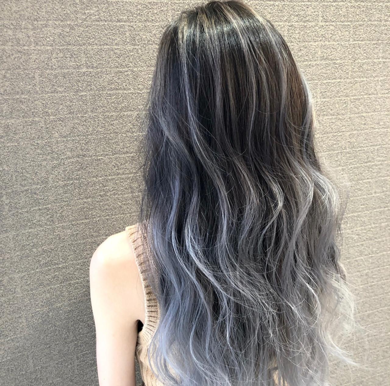 ロング 外国人風カラー 外国人風 ストリート ヘアスタイルや髪型の写真・画像 | アンドウ ユウ / Agu hair edge