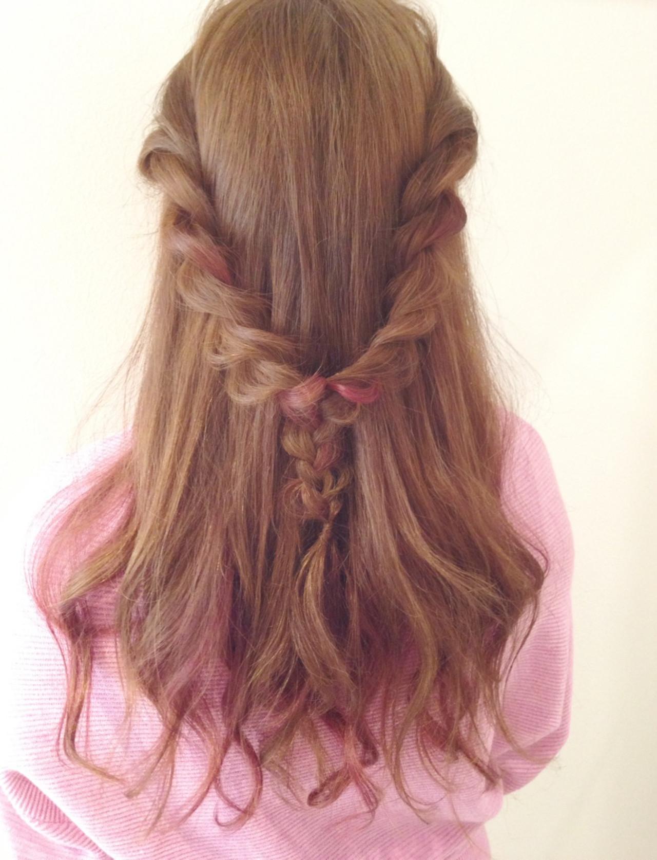 [詳しい方法付き]毎日をオシャレに飾りたい!誰でもできる簡単ヘアアレンジ特集 出典:長岡 可奈子 / Dress hair