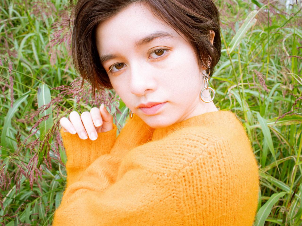 ナチュラル ショート 秋冬ショート アンニュイほつれヘアヘアスタイルや髪型の写真・画像