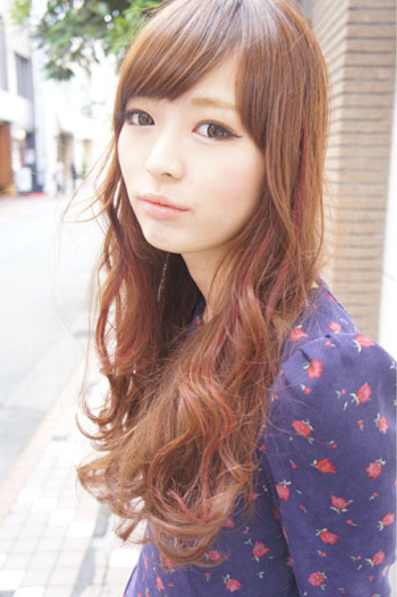 フェミニン ロング ゆるふわ モテ髪 ヘアスタイルや髪型の写真・画像   田村ジュン / FLAVIA