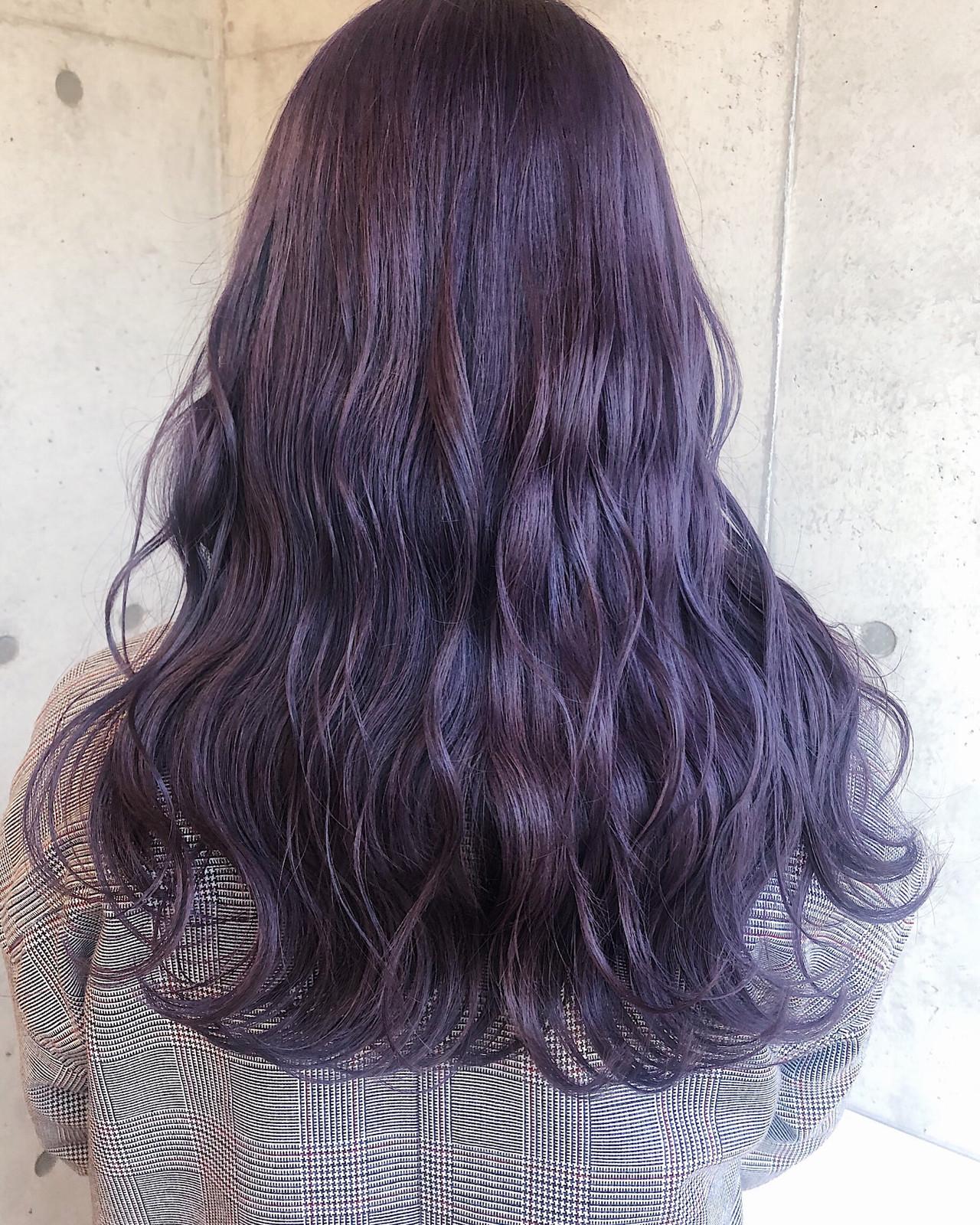 波ウェーブ ピンクカラー ダブルカラー ストリート ヘアスタイルや髪型の写真・画像 | ニシムラ カナ / La familia