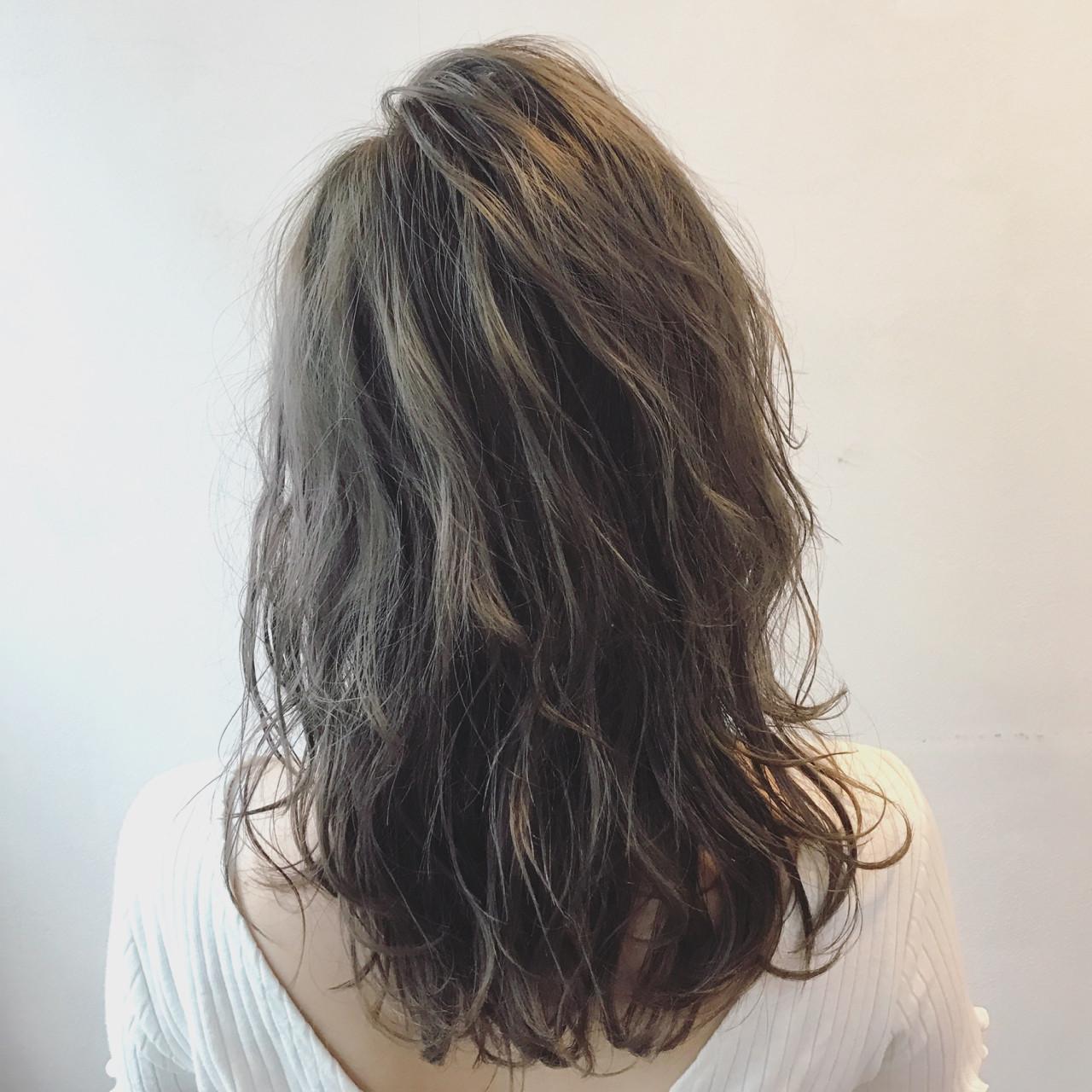 ストリート セミロング リラックス 透明感 ヘアスタイルや髪型の写真・画像 | 丸山 翔 / STAGE