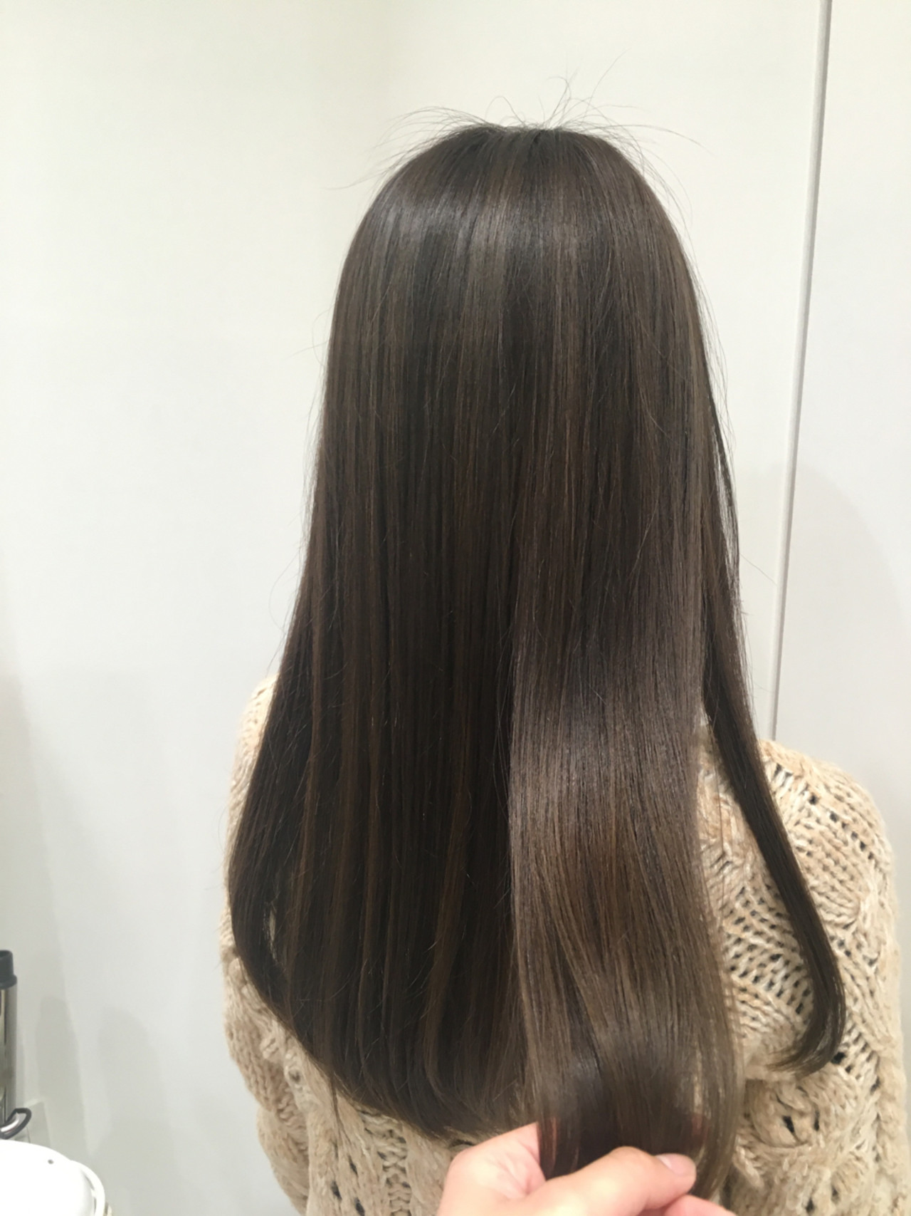 ベージュ ハイライト ミルクティー 外国人風ヘアスタイルや髪型の写真・画像