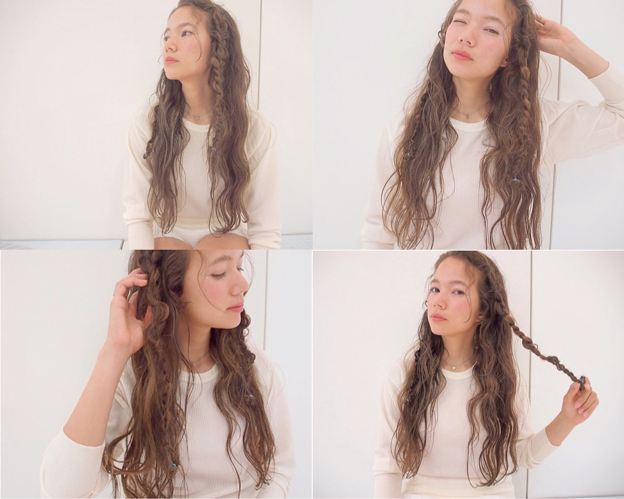 ローライト ロング ハイライト くせ毛風 ヘアスタイルや髪型の写真・画像 | Rie Akita / LOAVE omotesando