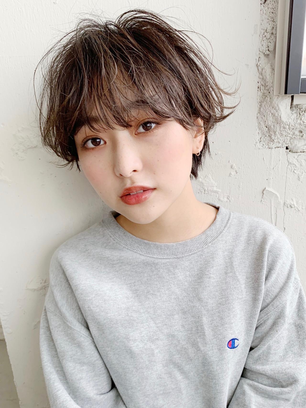 ショートヘア 小顔ショート ミニボブ ハンサムショート ヘアスタイルや髪型の写真・画像 | Natsuko Kodama 児玉奈都子 / dydi