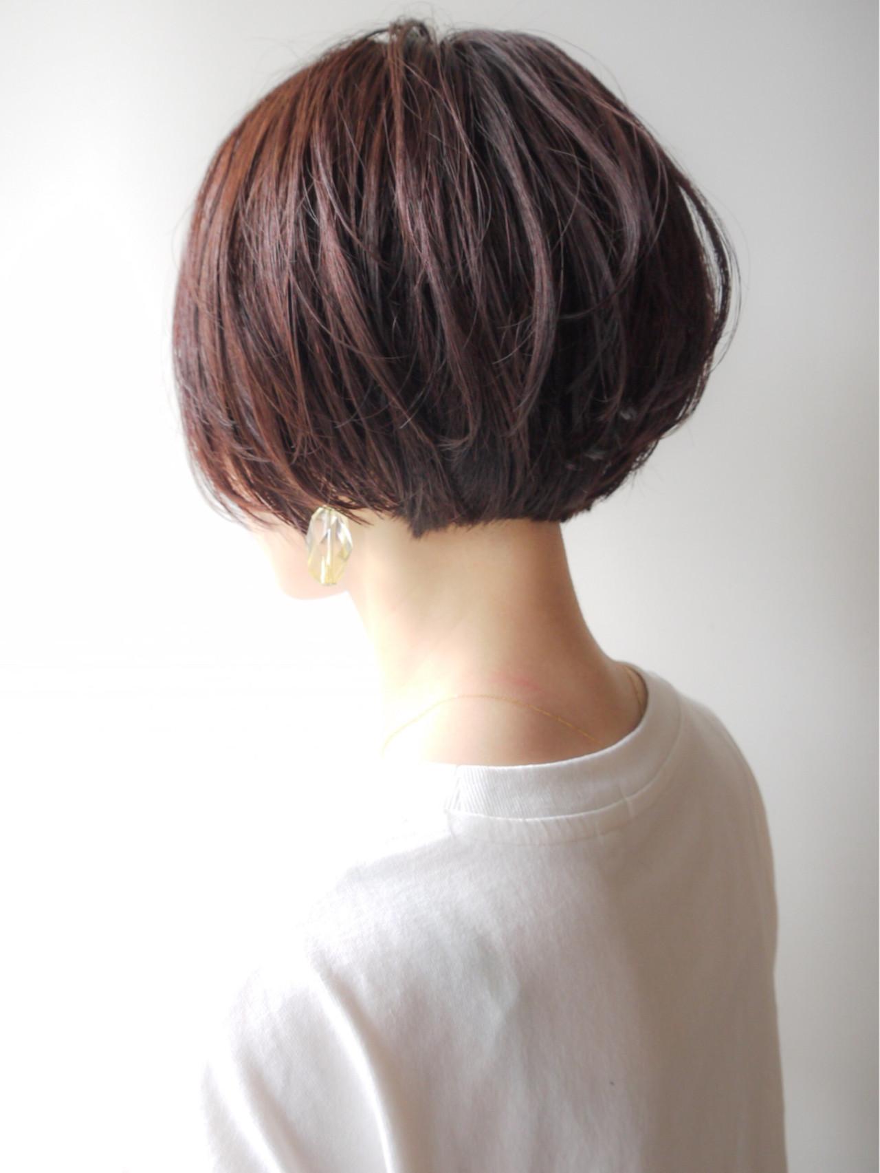 大人かわいい モテ髪 ゆるふわ ショートボブ ヘアスタイルや髪型の写真・画像 | HIROKI / roijir / roijir