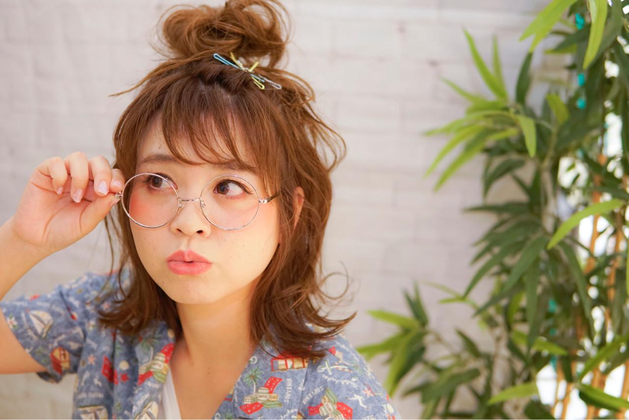 """ミディアムでもOK♡簡単かわいいアレンジなら""""おだんごヘア""""! 山口 卓哉"""