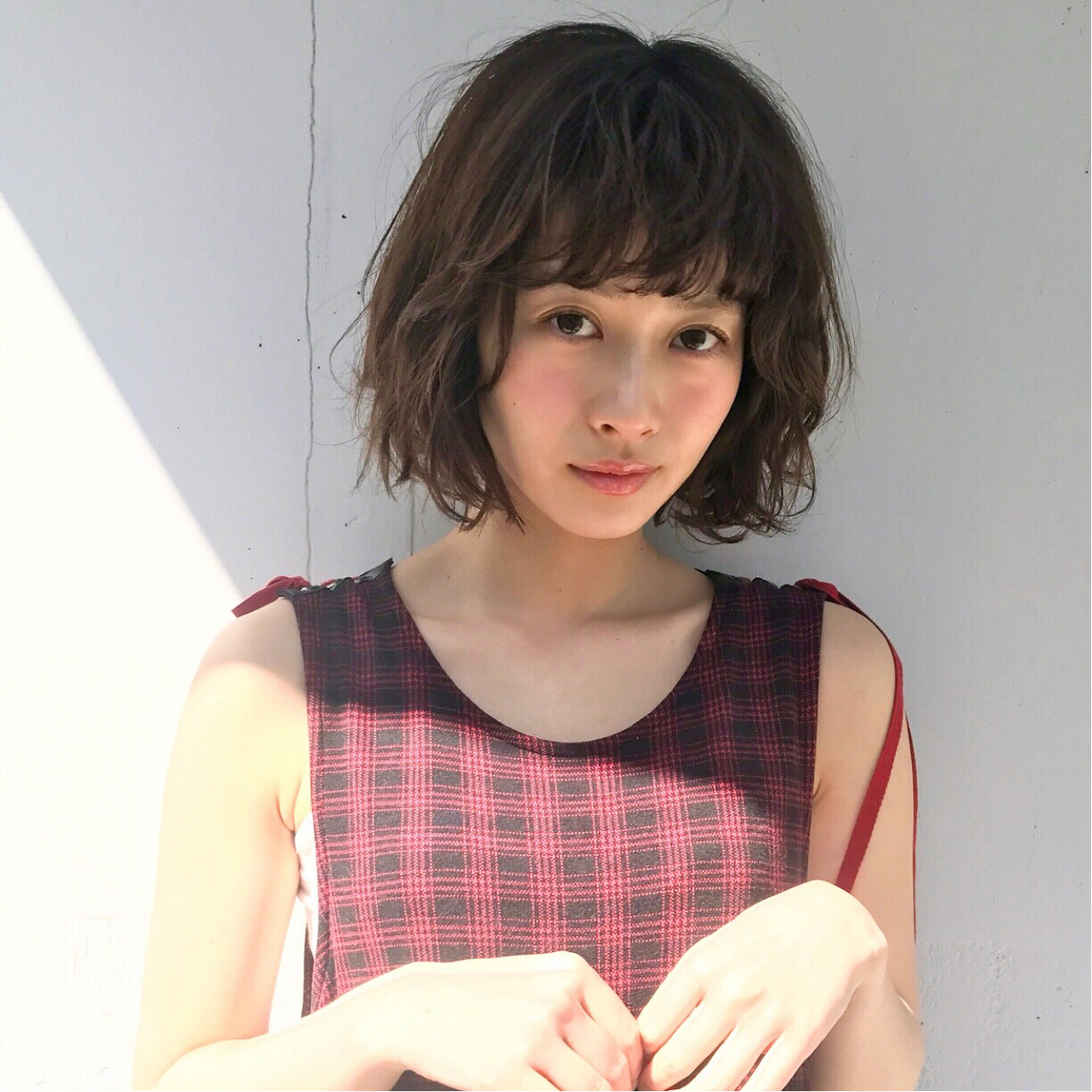 ガーリー ミルクティー パーマ ゆるふわ ヘアスタイルや髪型の写真・画像 | 斎藤 菜穂 / log