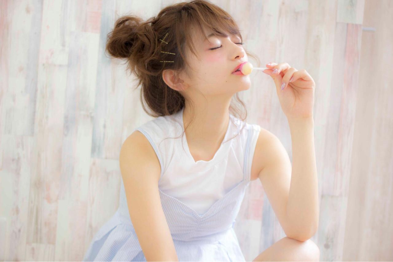 ショート ゆるふわ ミディアム フェミニン ヘアスタイルや髪型の写真・画像 | 堀伸裕 / Gem Garden