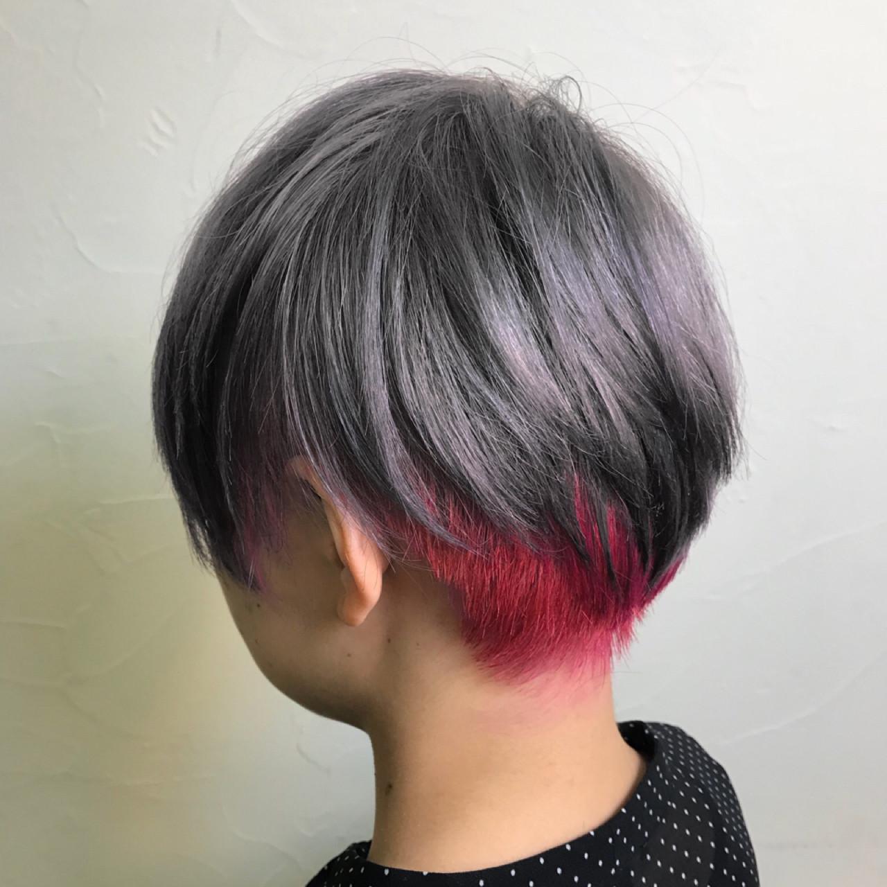 ピンク ゆるふわ グレージュ 上品ヘアスタイルや髪型の写真・画像