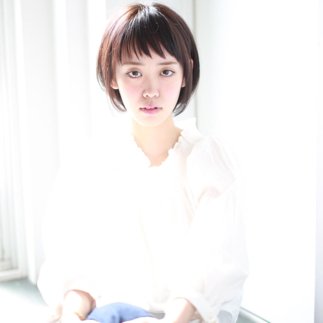 ショート 外国人風カラー リラックス グレージュ ヘアスタイルや髪型の写真・画像 | イマムラ スナオ / LUKE