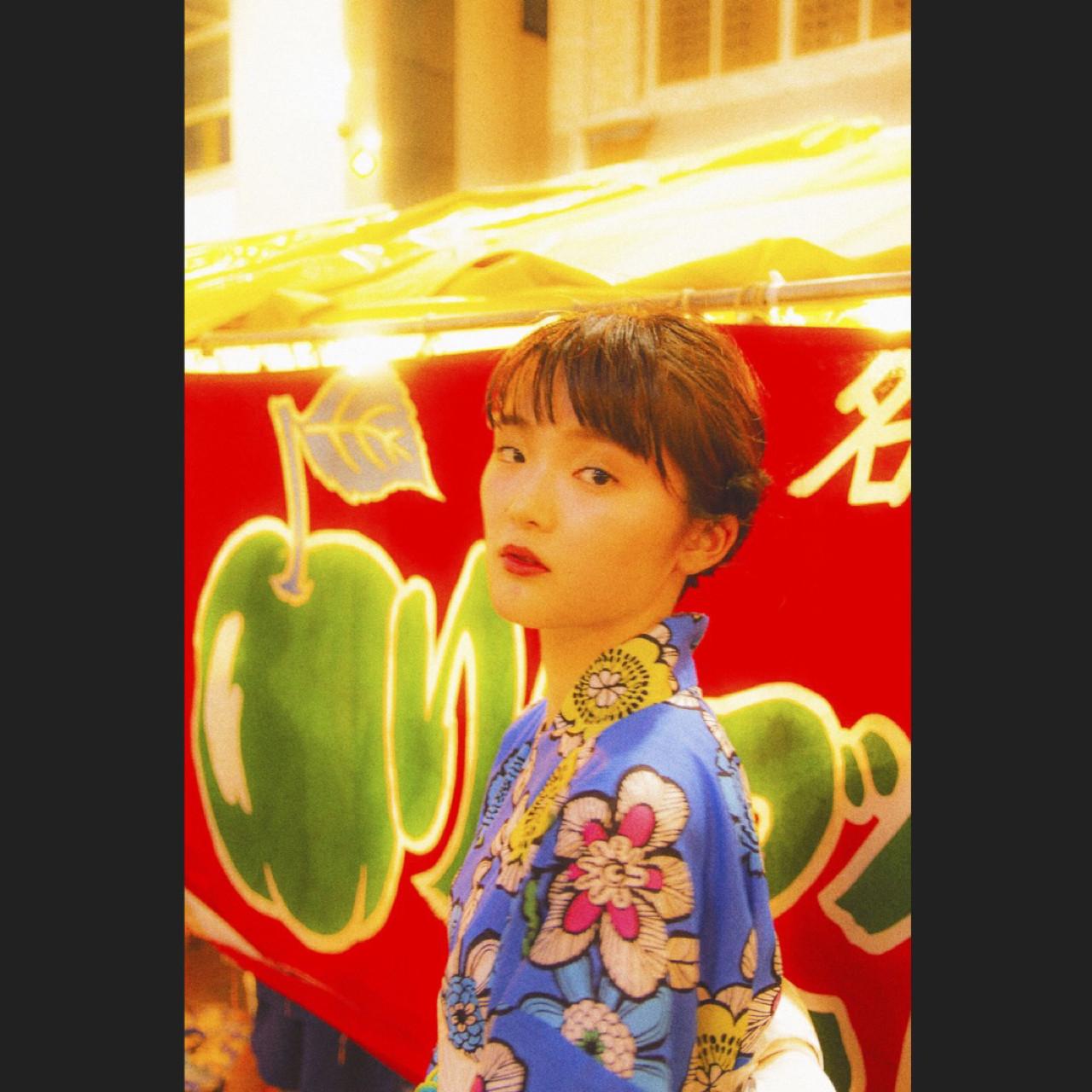 ヘアアレンジ ロング デート レトロ ヘアスタイルや髪型の写真・画像 | 岩切陽平 / Hair&Beauty AURA