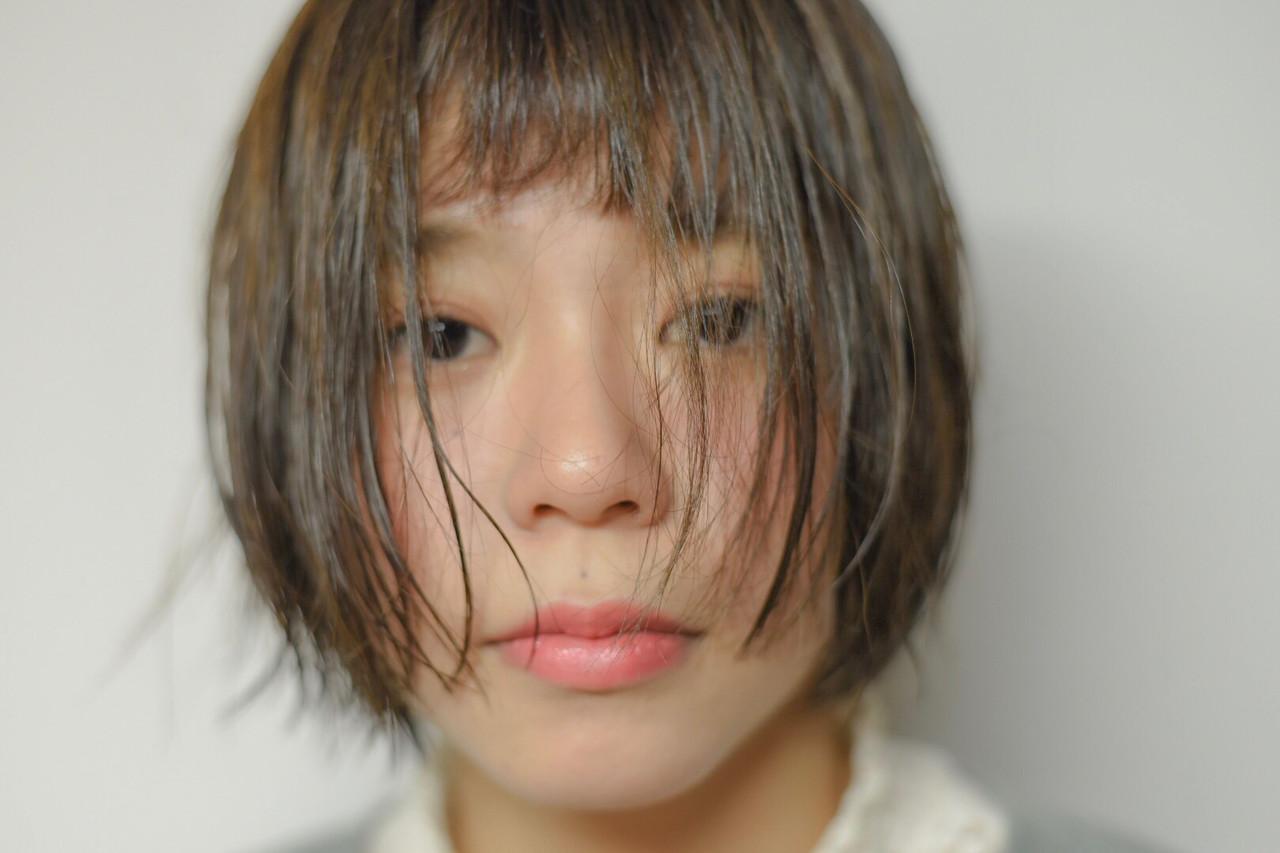 ショート ゆるふわ デート スポーツ ヘアスタイルや髪型の写真・画像 | 能野 和希 / Direct