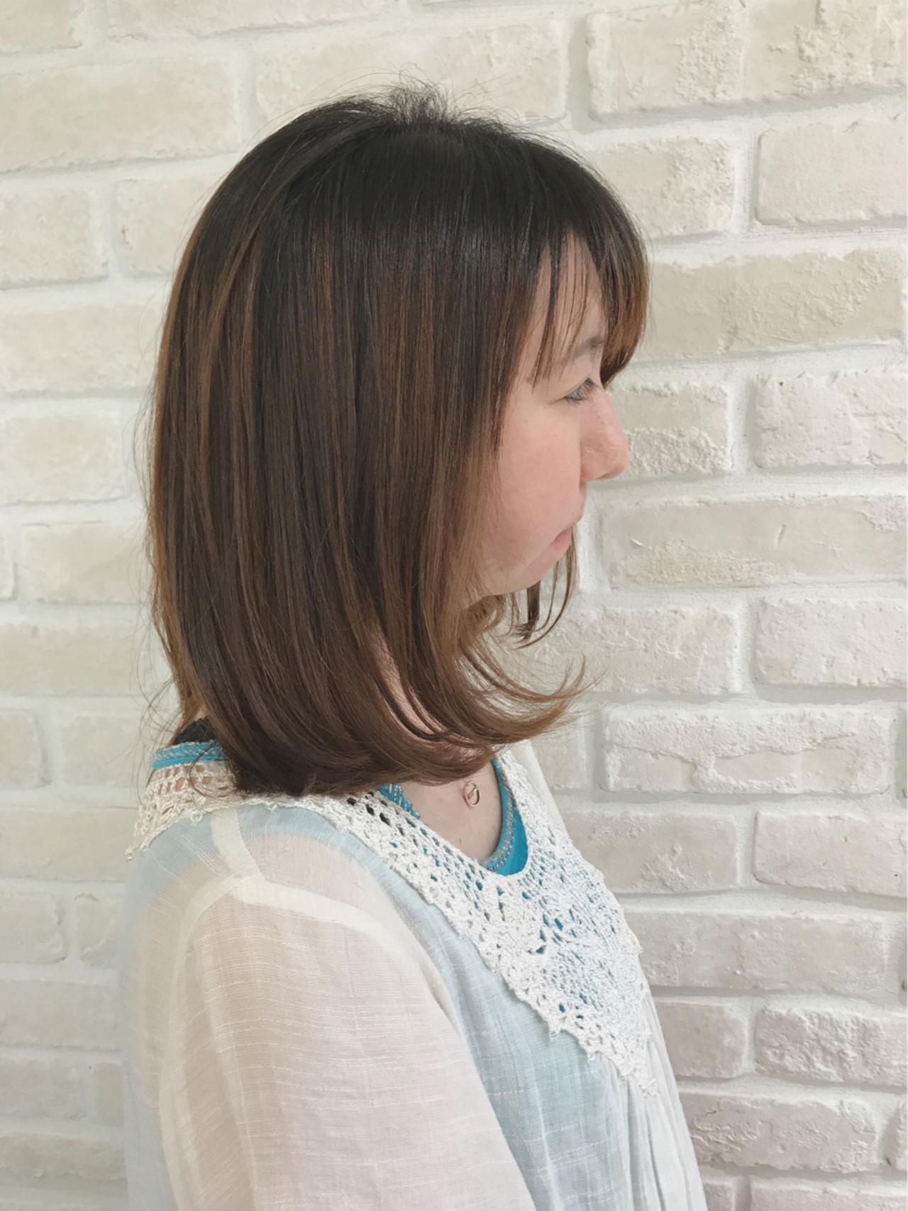 デート ボブ かわいい パーマ ヘアスタイルや髪型の写真・画像 | まりえ / 花やの前の美容室
