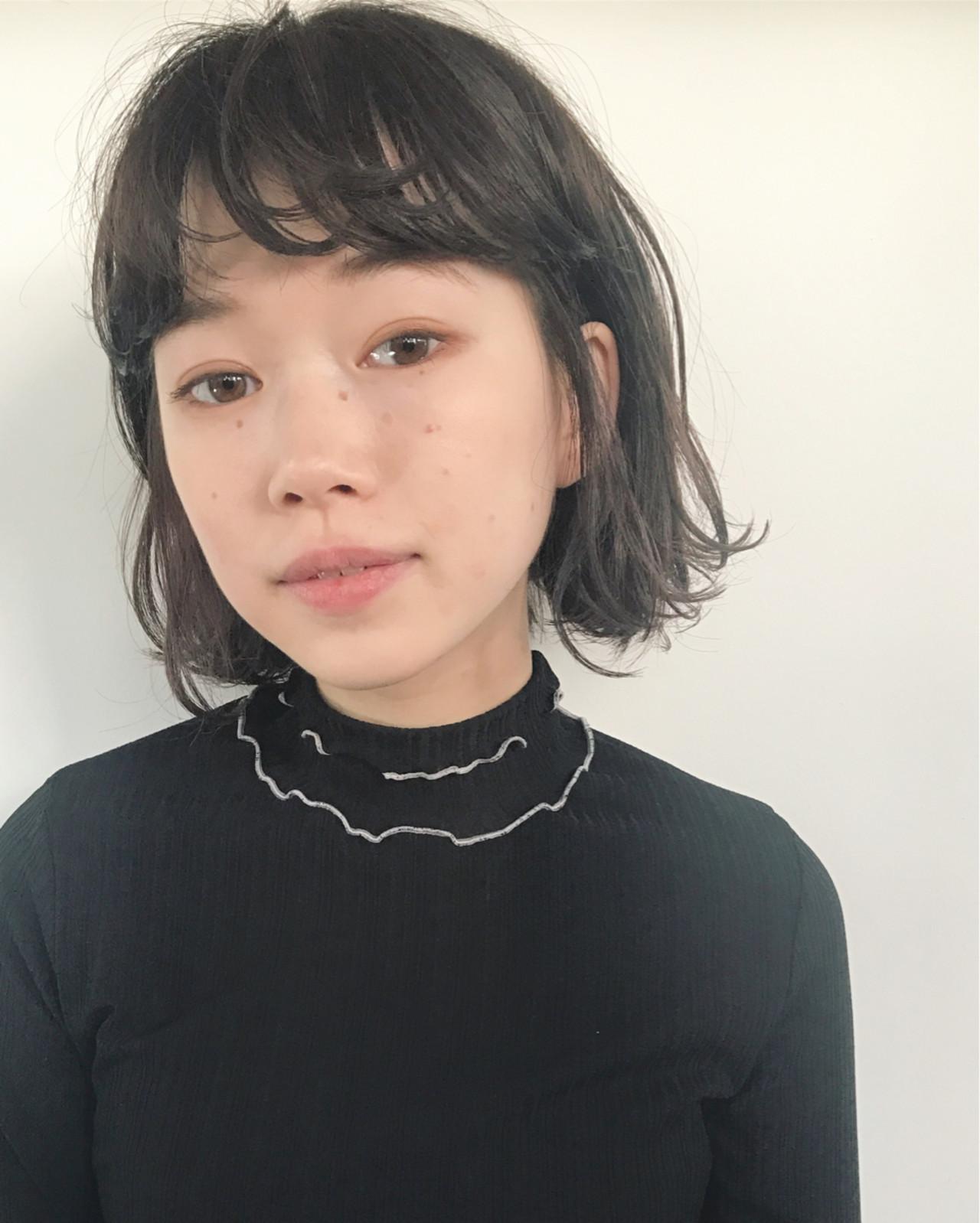 こなれ感 ニュアンス ナチュラル 小顔 ヘアスタイルや髪型の写真・画像   UEKI/nanuk / nanuk二子玉川
