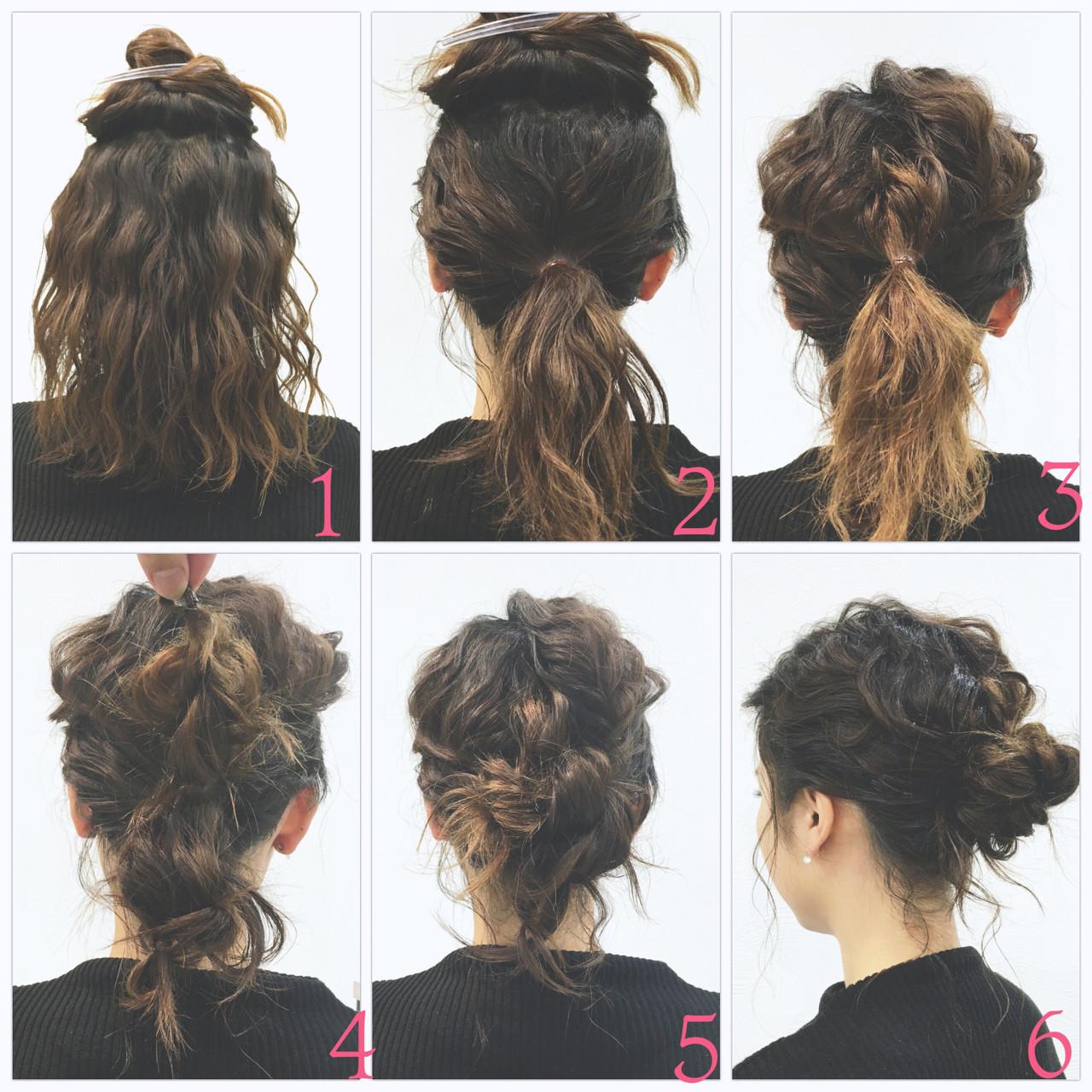 ローポニーテール ボブ ロープ編み ショート ヘアスタイルや髪型の写真・画像   SAKURA 村上 ゆうすけ / Lifesalon SAKURA