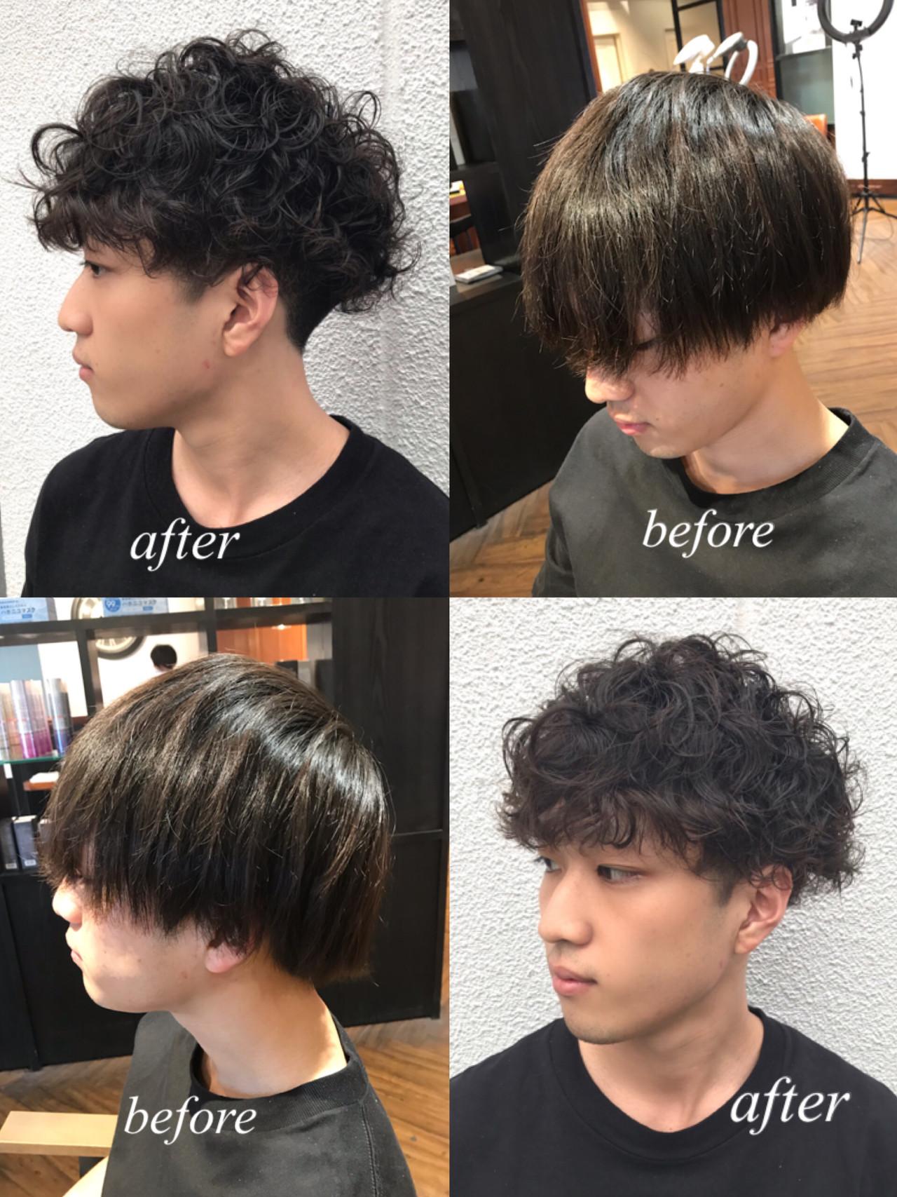 ショート メンズカット メンズショート メンズ ヘアスタイルや髪型の写真・画像 | Lee innocence 宮本伸一(shin) / Lee innocence 西宮北口店