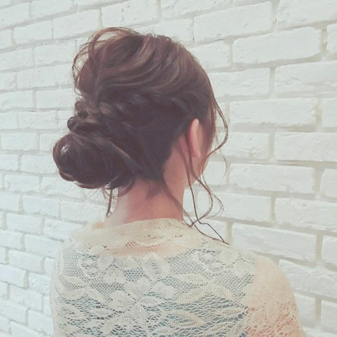パーティ エレガント デート ロング ヘアスタイルや髪型の写真・画像 | 浦川由起江 / nanon
