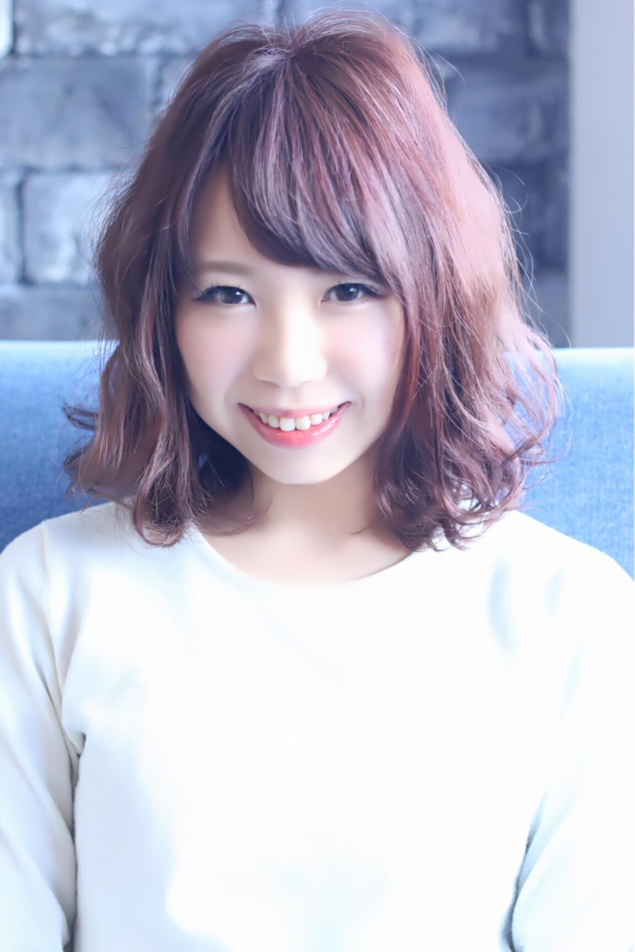 サンゴ系カラーに癒されて。Coral(コーラル)色で幸せたっぷりな髪に♡ 満岡寛史 / LAVIERE