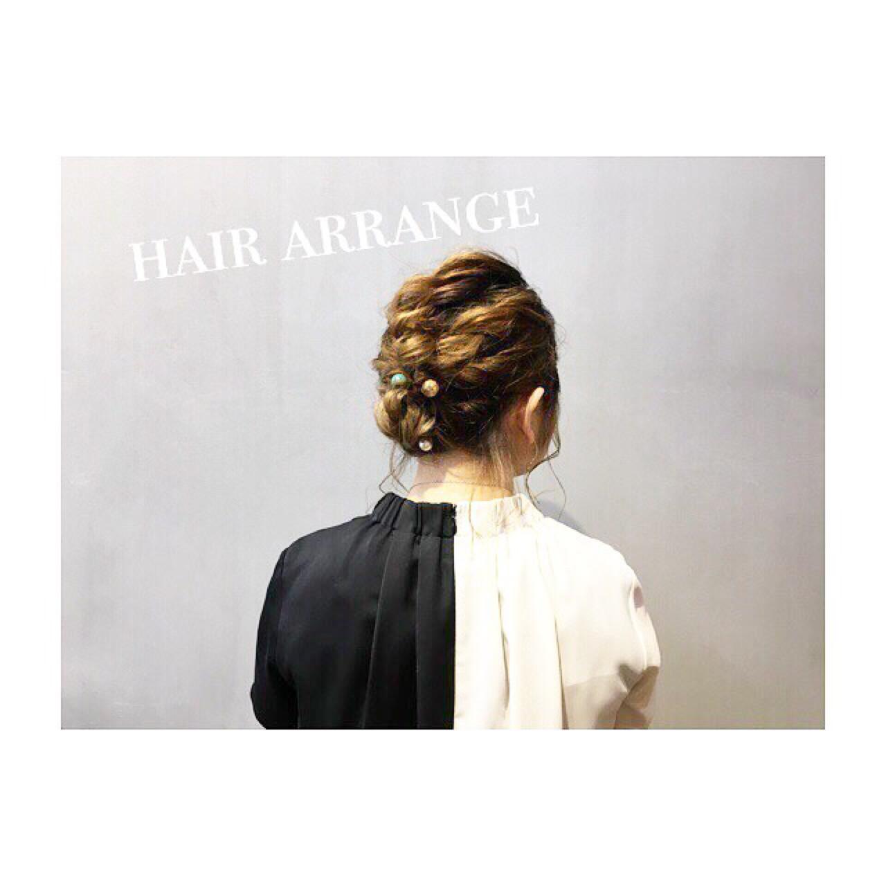 大人かわいい ヘアアレンジ 涼しげ 夏 ヘアスタイルや髪型の写真・画像 | COM PASS 太一 / COM PASS