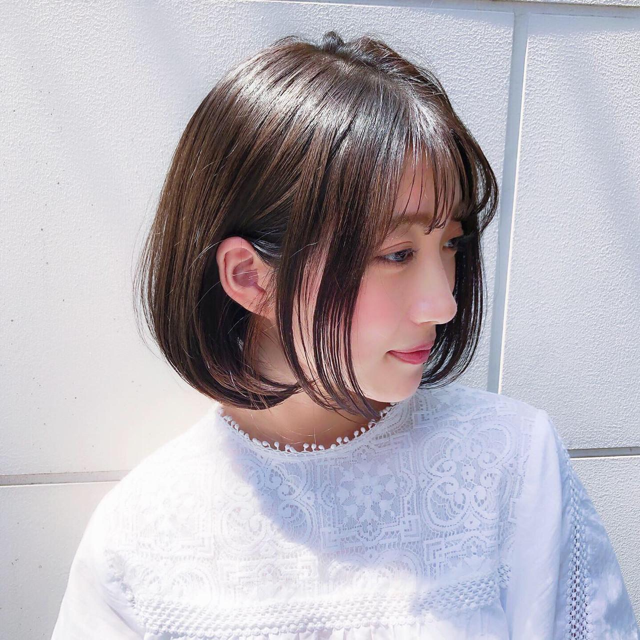 レイヤー ナチュラル 大人かわいい パーマ ヘアスタイルや髪型の写真・画像 | 趙 英来 (よん) / nex
