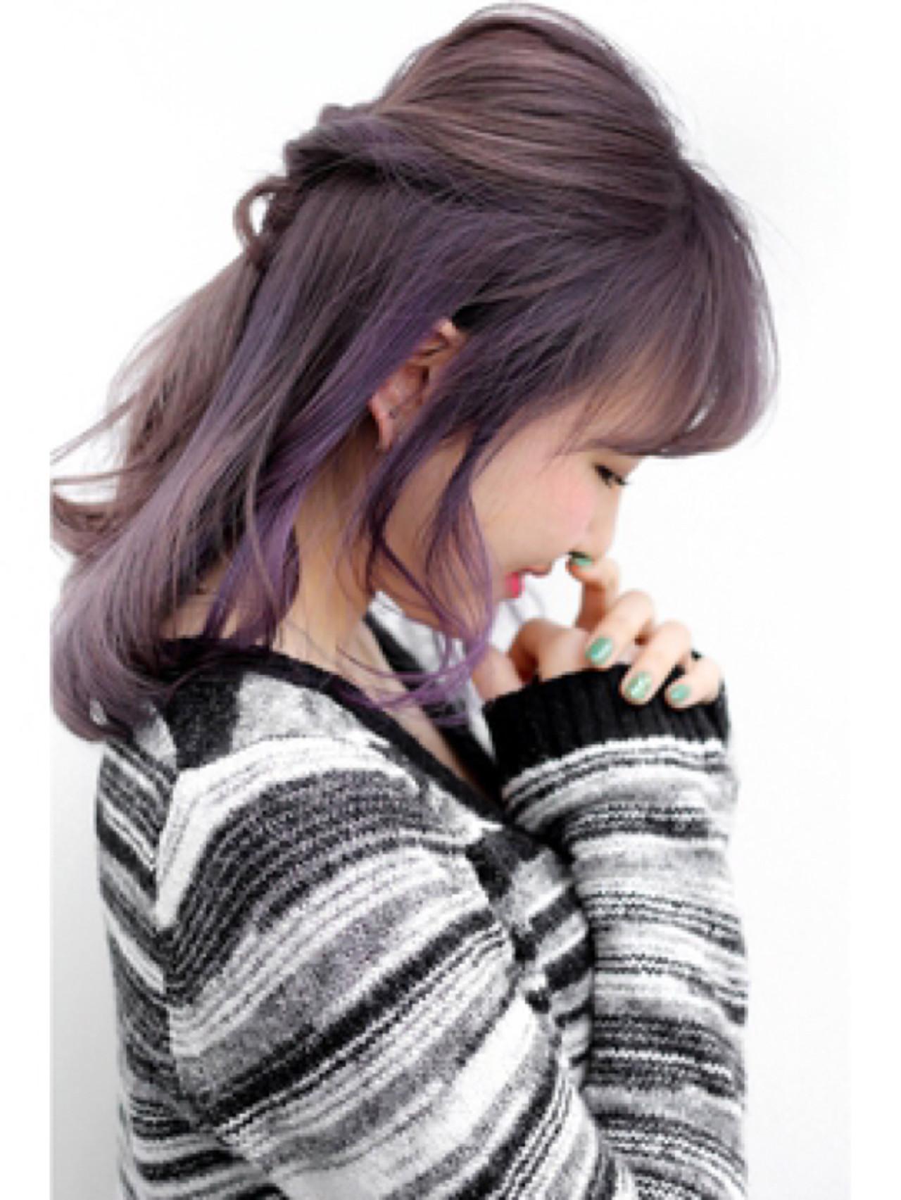 ラベンダーアッシュなあなたの髪色を旬に♪うっとり色落ちを楽しもう 仲澤 武 / tornado