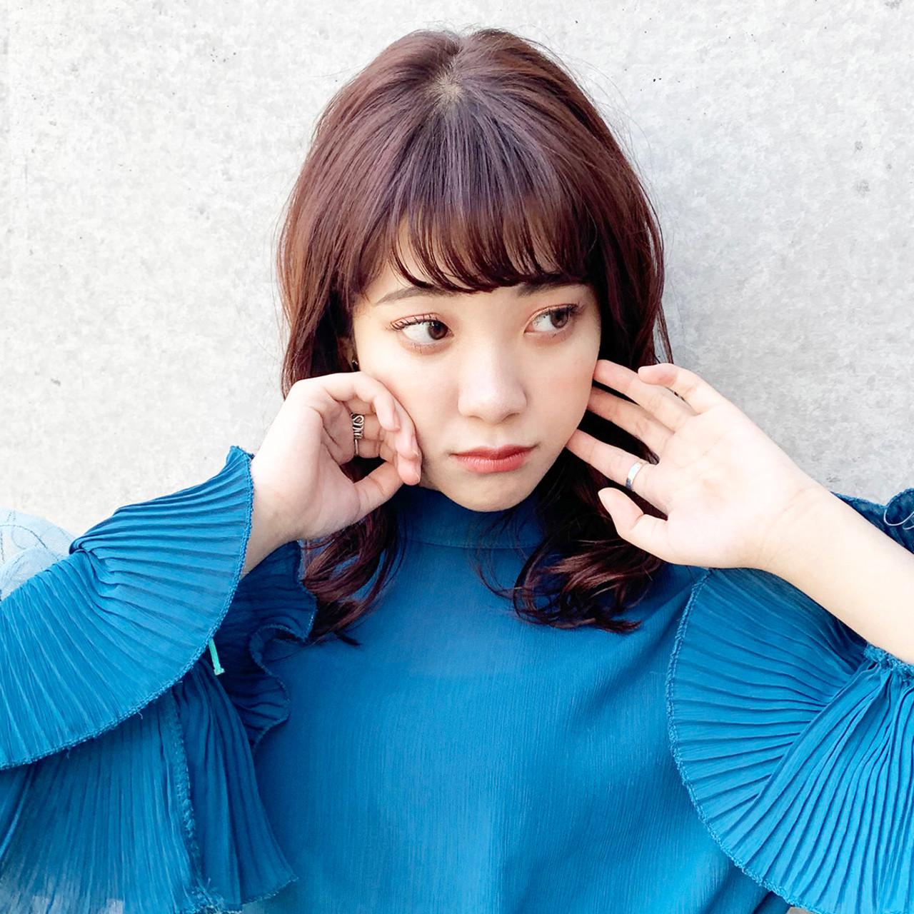 デート 小顔 ゆるふわ フェミニン ヘアスタイルや髪型の写真・画像 | 中尾 寿揮 / Anna Lanna