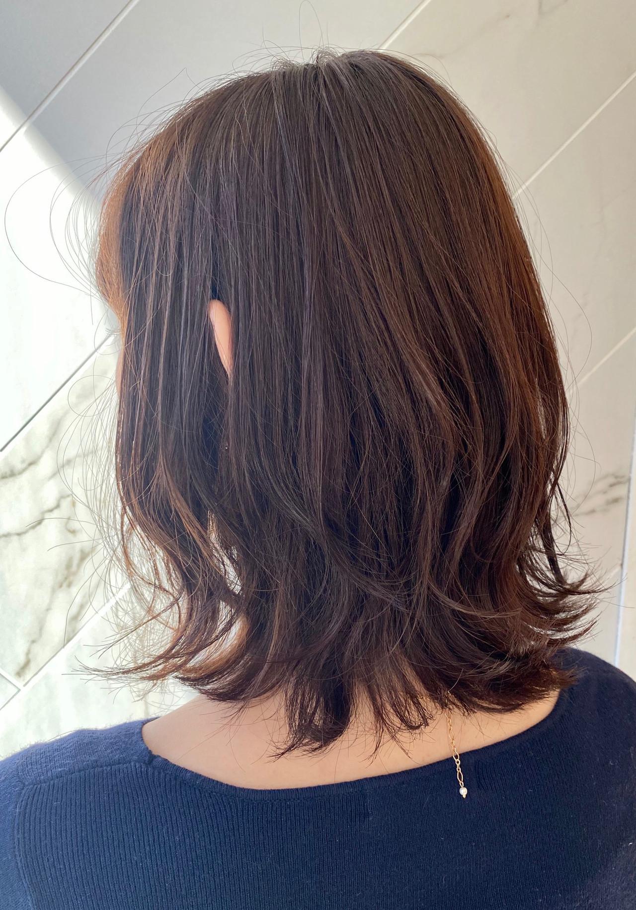 レイヤーボブ 大人可愛い ナチュラル 銀座美容室ヘアスタイルや髪型の写真・画像