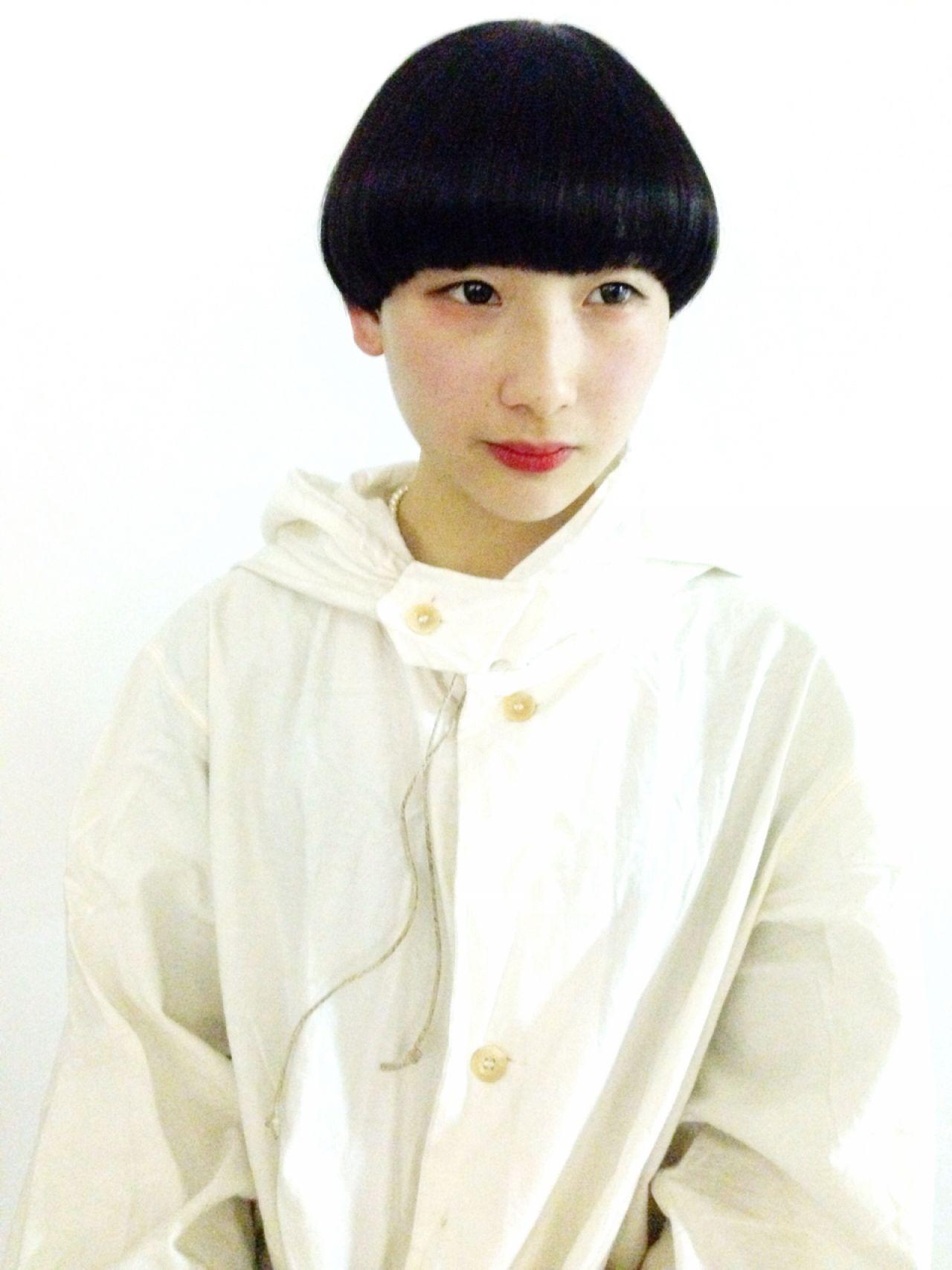好印象美人になれる♪黒髪ショートのヘアスタイル集 トヲル