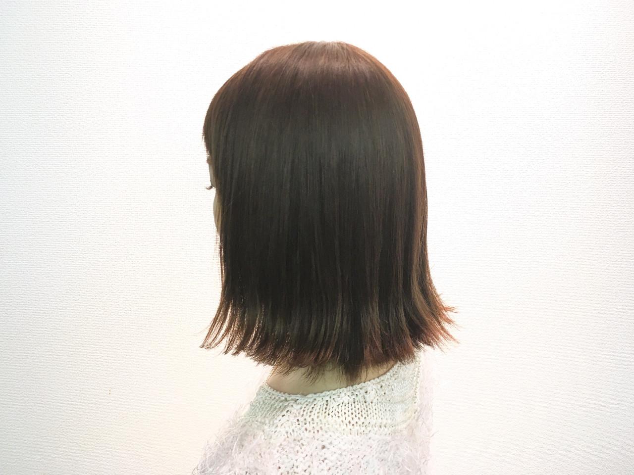 大人かわいい モード 外ハネ ボブ ヘアスタイルや髪型の写真・画像 | 桑村亮太/CALIF hair store / 函館/CALIF hair store/キャリフ ヘアストア