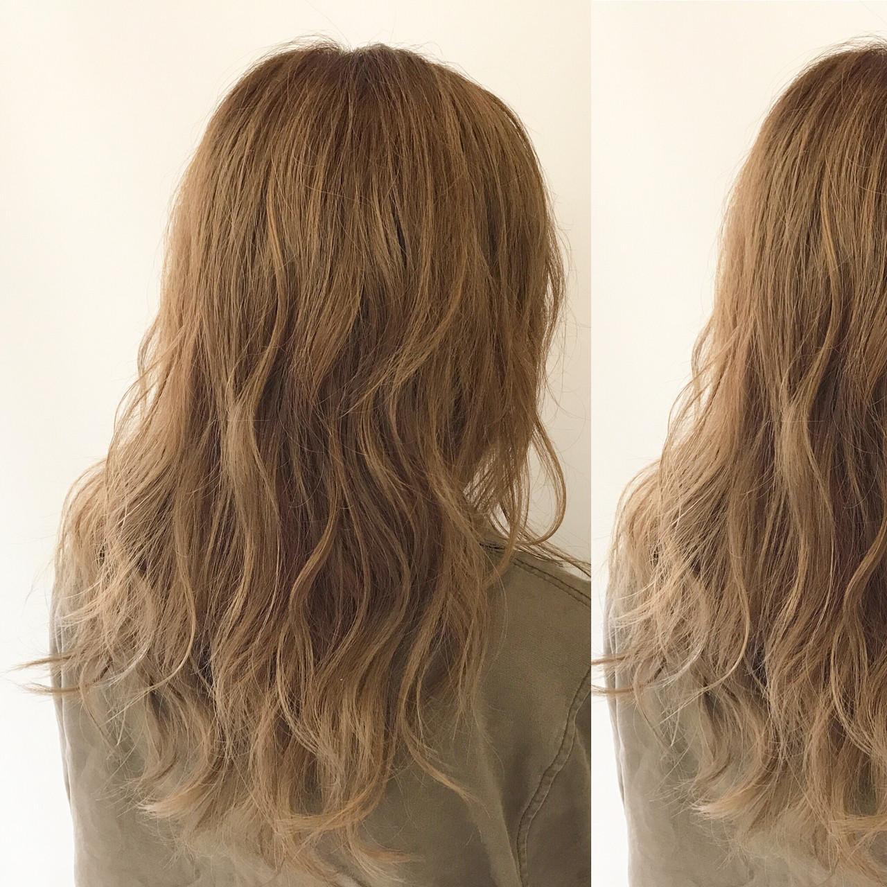 パーマ アンニュイ リラックス セミロング ヘアスタイルや髪型の写真・画像 | 新谷 朋宏 / Free hairstylist shinya