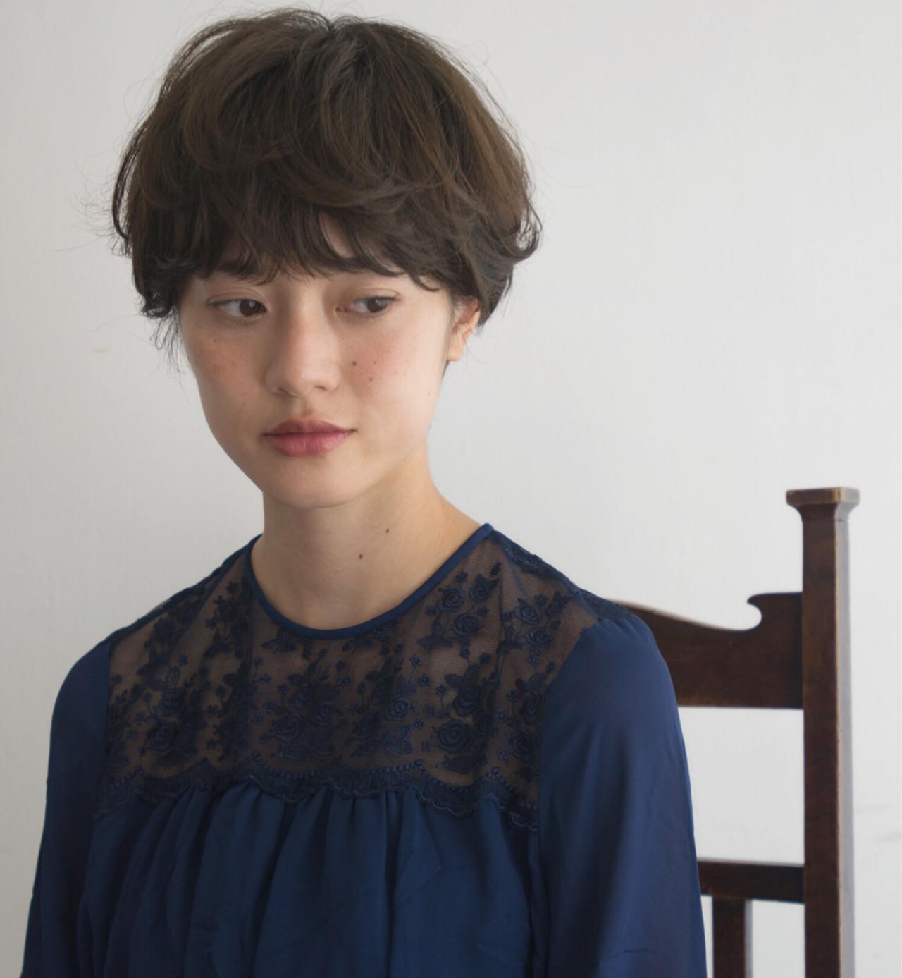 綺麗なカタチで魅了♡マッシュショート anti_RIKUSHI