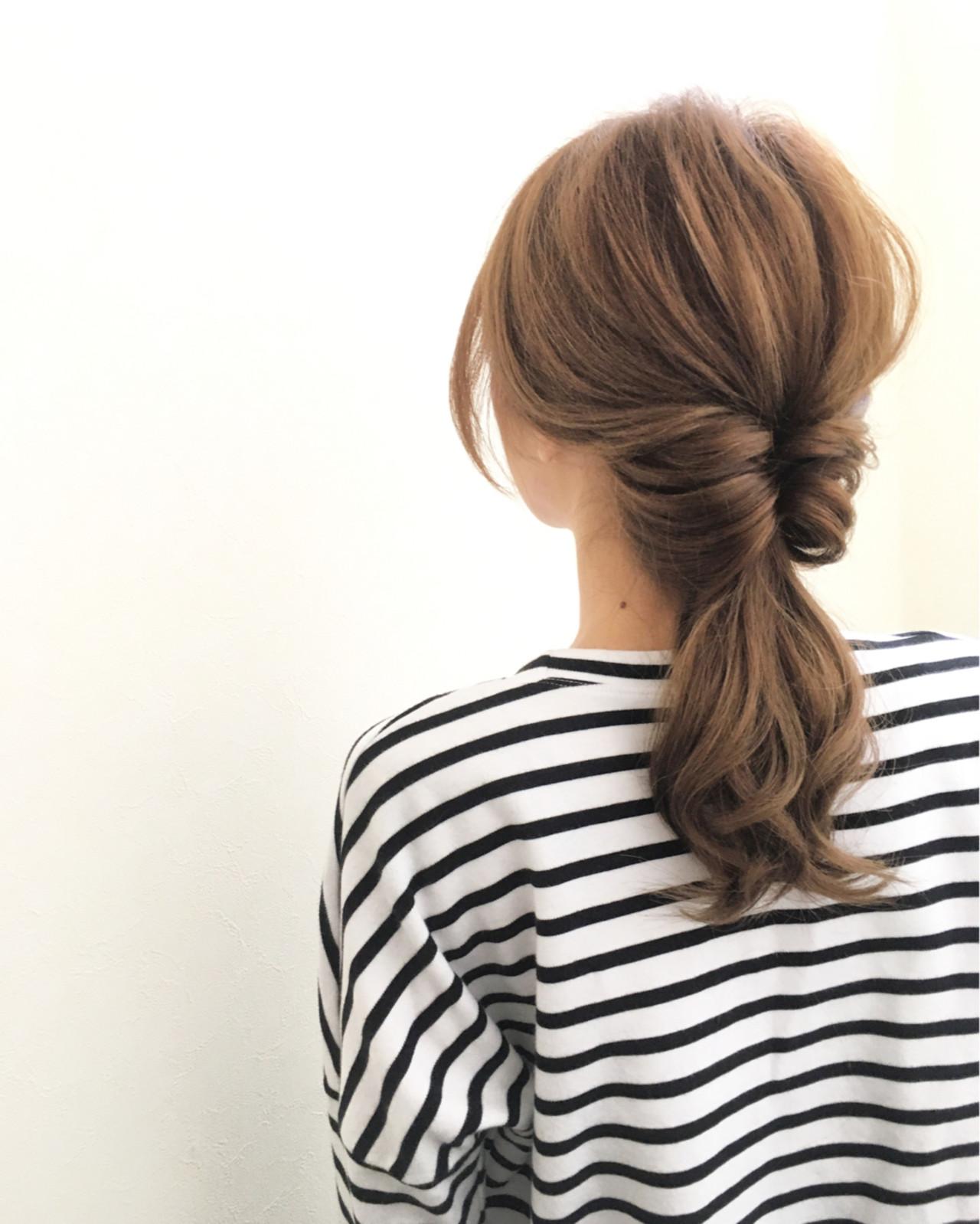 3分でワンランク上のオシャレママさんに!忙しい人のためのヘアアレンジ特集。 ryota kuwamura / hair make Full throttle