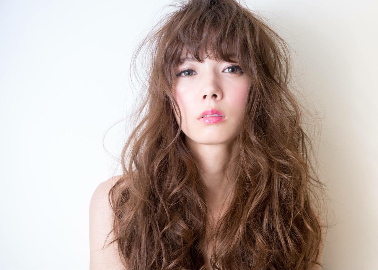 ブラウン 愛され 外国人風 パーマヘアスタイルや髪型の写真・画像