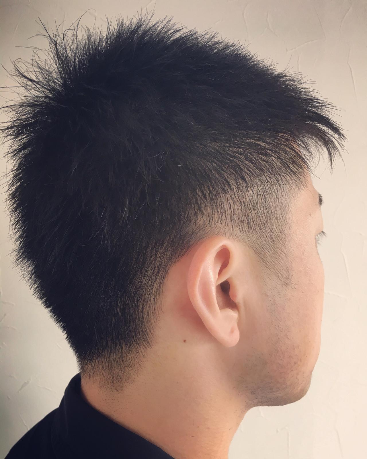 メンズショート メンズカット ストリート メンズヘアヘアスタイルや髪型の写真・画像