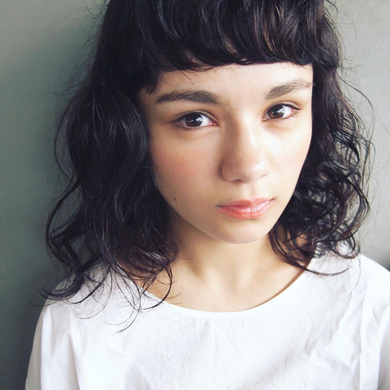 【スタイル特集】印象派美人になれる髪型=黒髪ショート×パーマスタイル? UEKI/nanuk