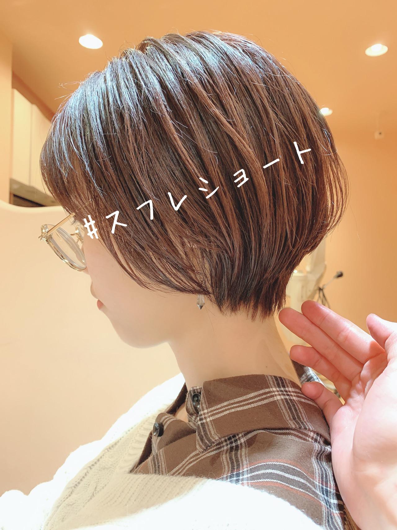 モテ髪 ショートボブ ショート ナチュラル ヘアスタイルや髪型の写真・画像   masa / morio from london 原宿本店