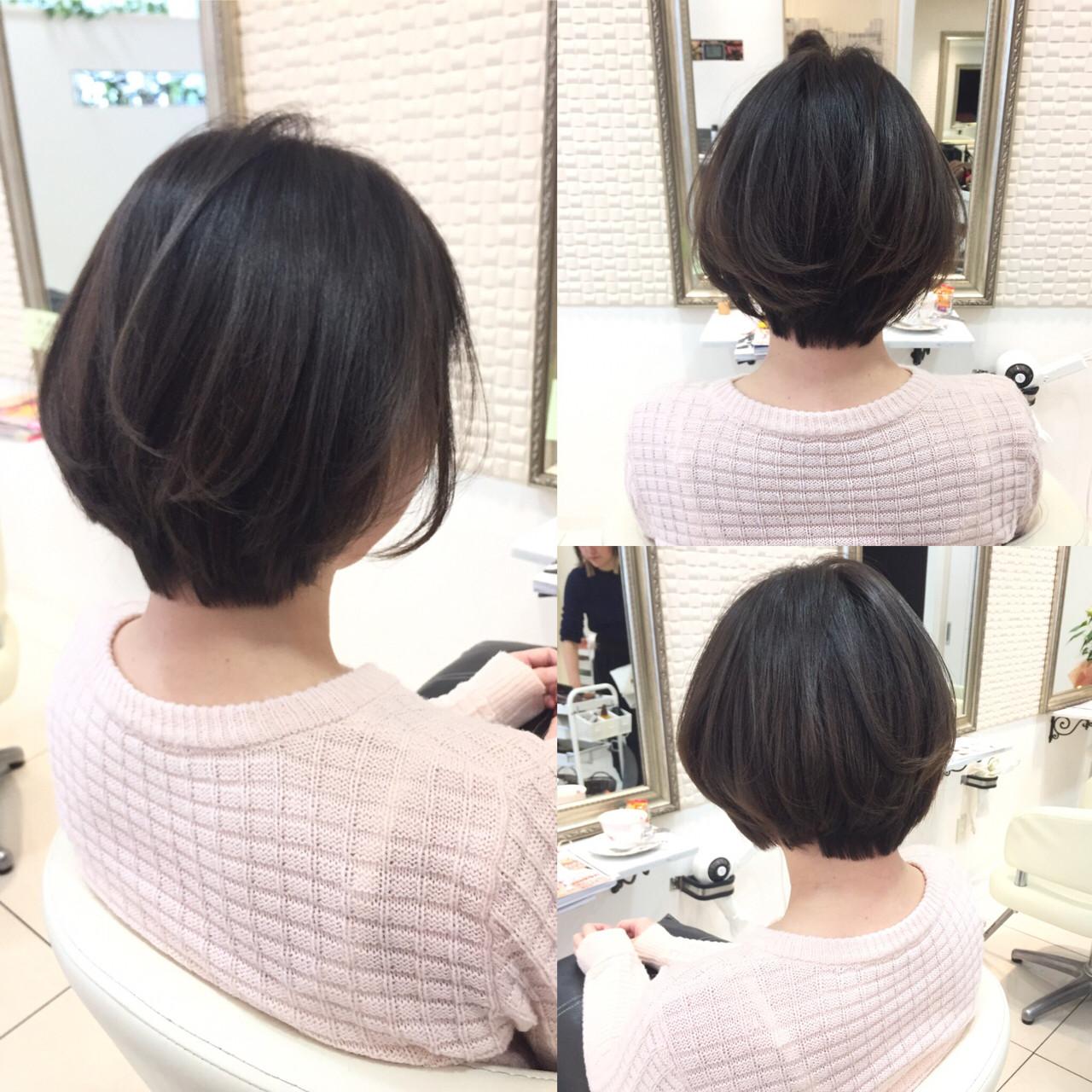 パーマ 色気 小顔 ナチュラルヘアスタイルや髪型の写真・画像