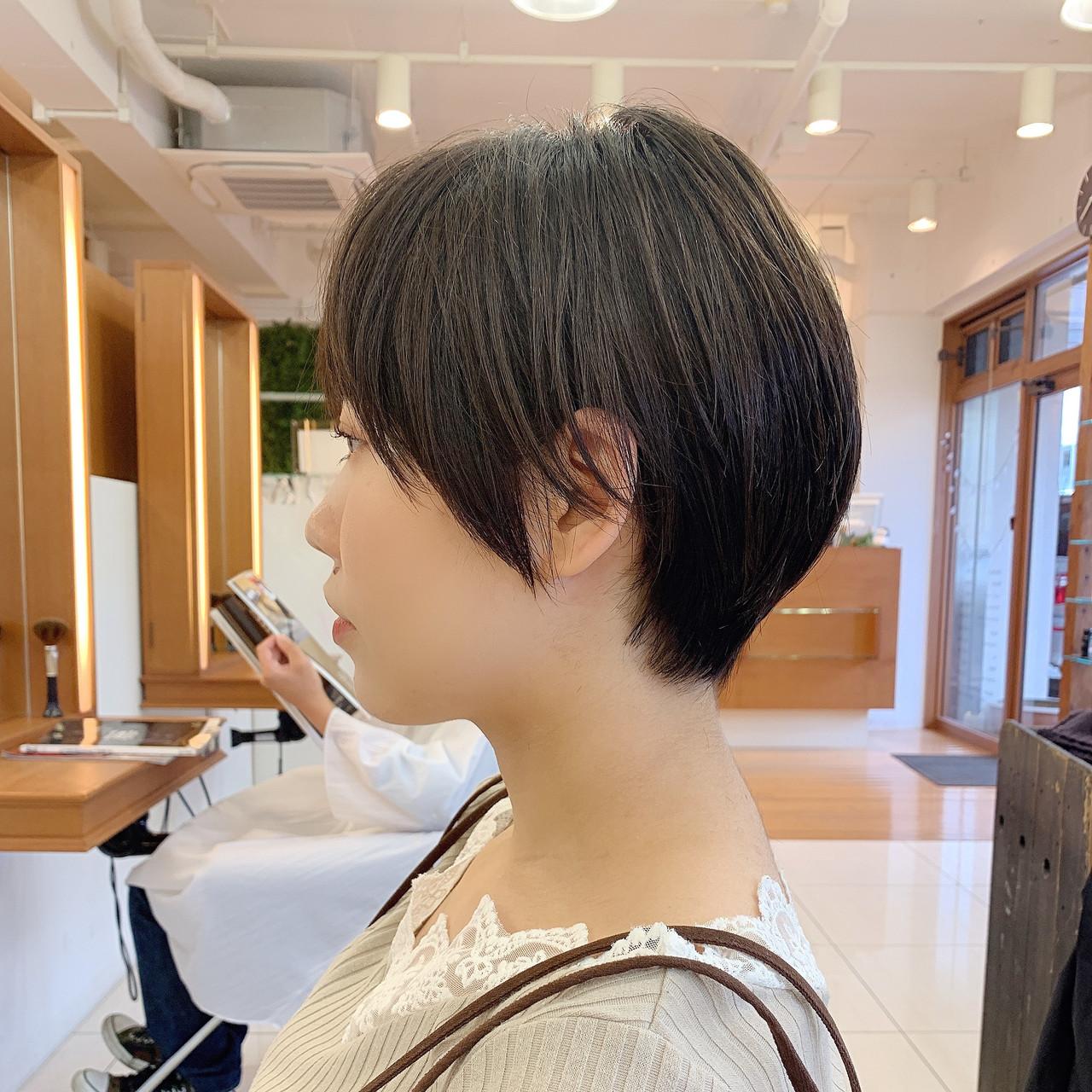 ナチュラル 可愛い 大人ショート ショートヘア ヘアスタイルや髪型の写真・画像 | 【つくば美容師】ショートヘア愛好家/矢崎 翔太 / ジールサロン