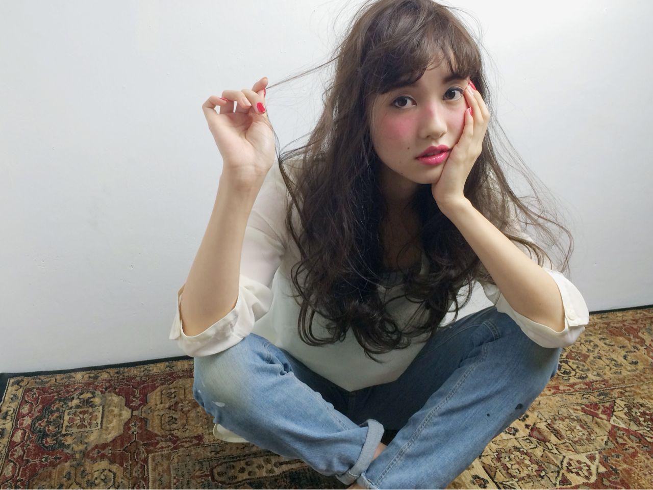 ロング×パーマで大人可愛いを見つけよう* 末藤 智子 / Laulea