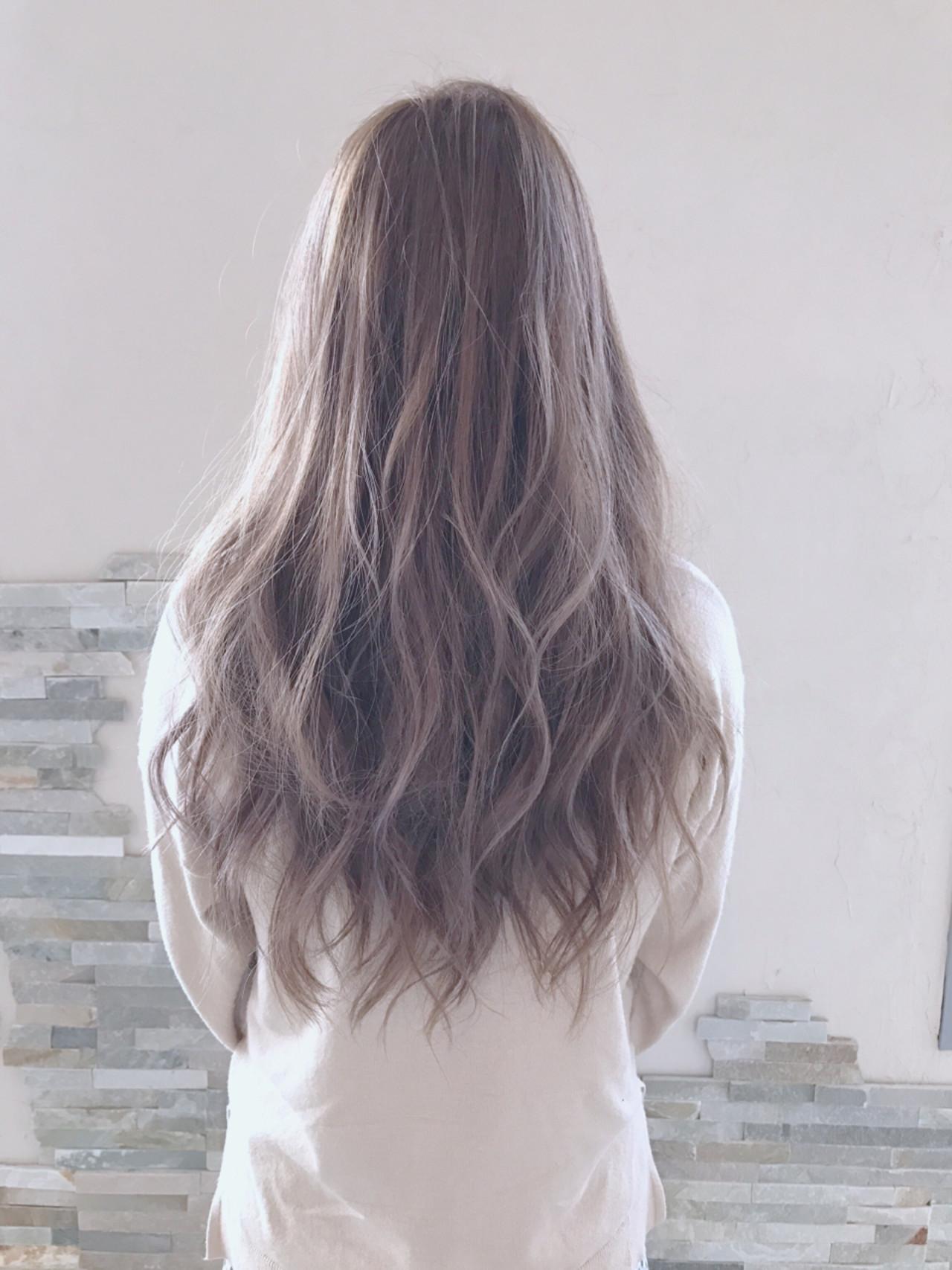 ロング バレイヤージュ エレガント 上品 ヘアスタイルや髪型の写真・画像 | 中山俊一 / valucetiri