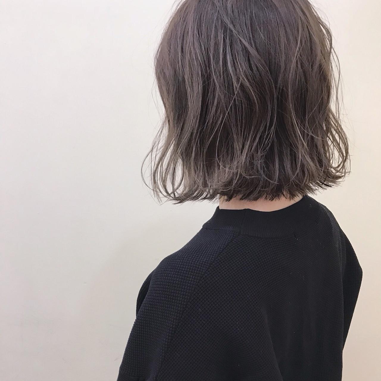 オフィス ゆるふわ アンニュイ 色気 ヘアスタイルや髪型の写真・画像 | yumiko/sapporoSKNOW / SKNOW