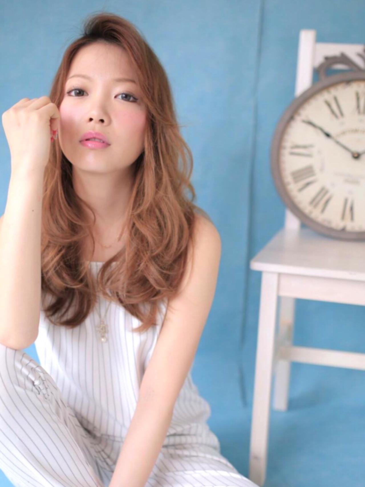 ショート ロング 簡単ヘアアレンジ 大人かわいい ヘアスタイルや髪型の写真・画像 | 加田 侑也 / La Blessキューズサロン