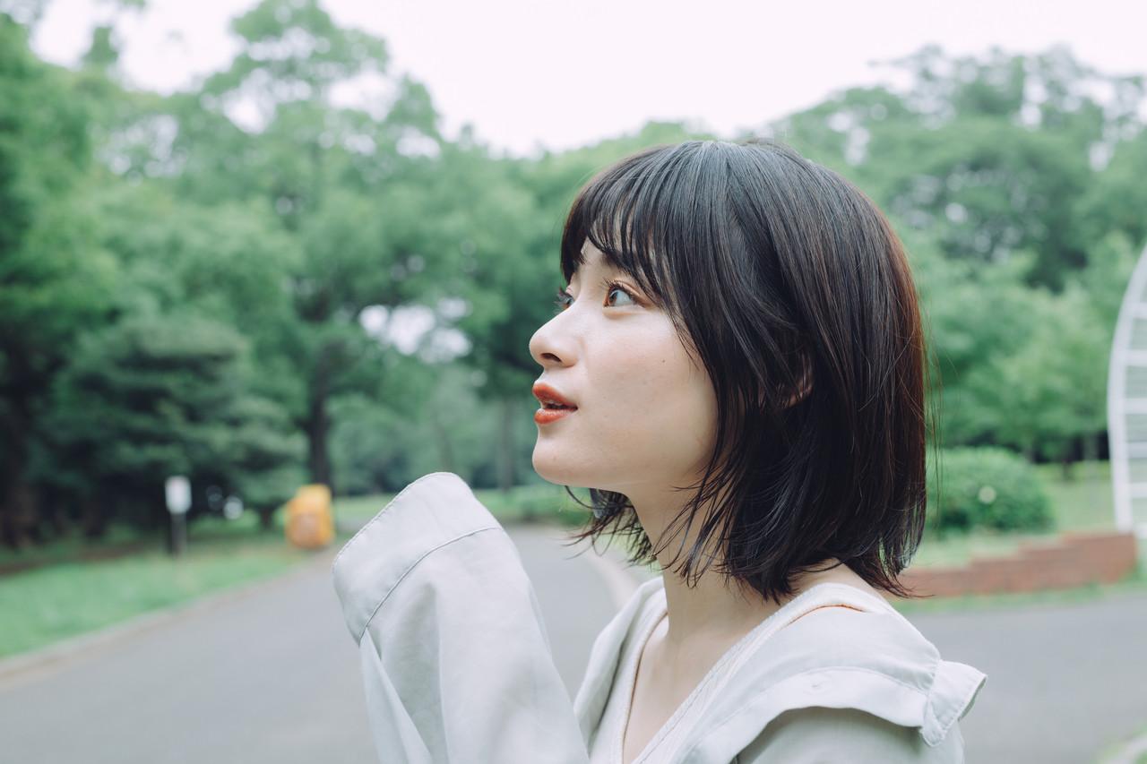 ミニボブ ボブ パーマ  ヘアスタイルや髪型の写真・画像   児玉善央 / GARDEN harajuku