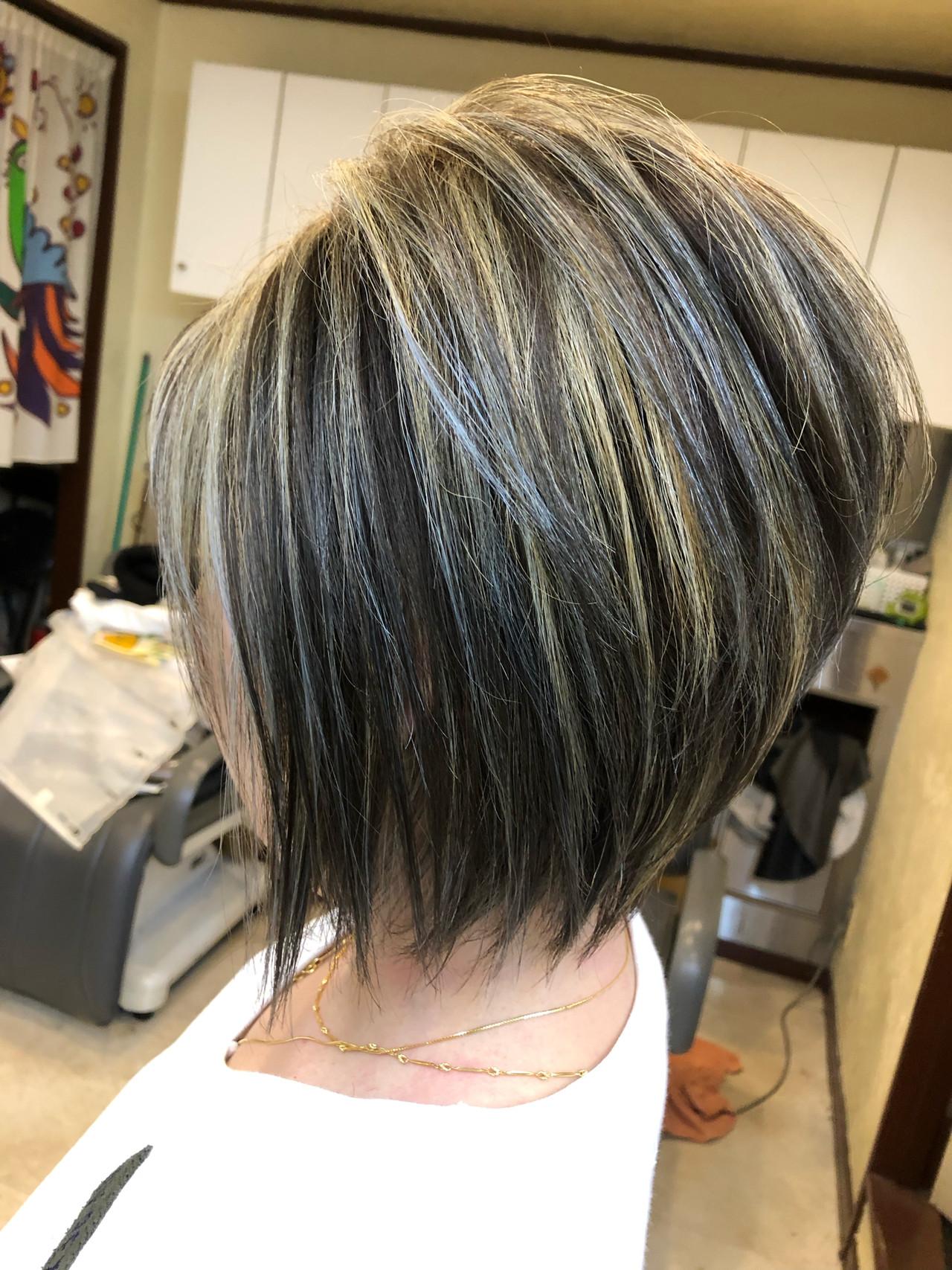 ハイライト ナチュラル ボブ 西海岸風 ヘアスタイルや髪型の写真・画像 | TMe hair/tomoe chiba / TMe hair川崎小田